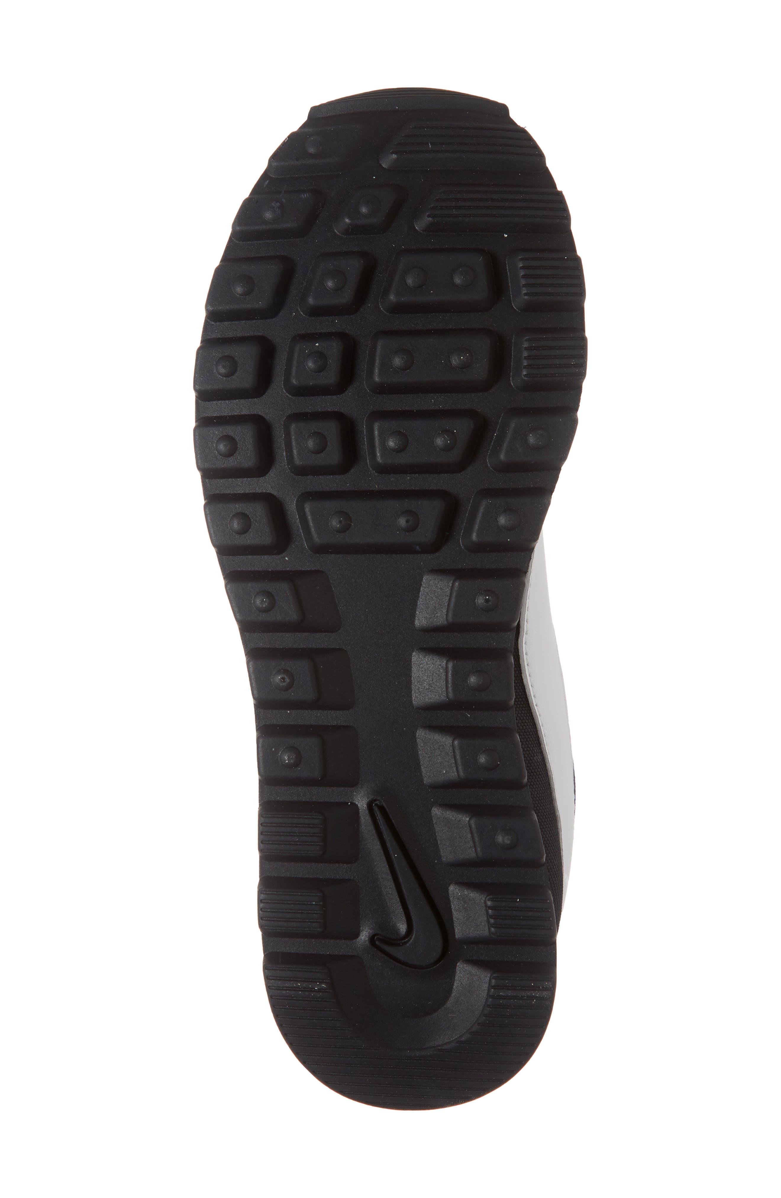 NIKE, Pre Love O.X. Sneaker, Alternate thumbnail 6, color, BLACK/ SUMMIT WHITE