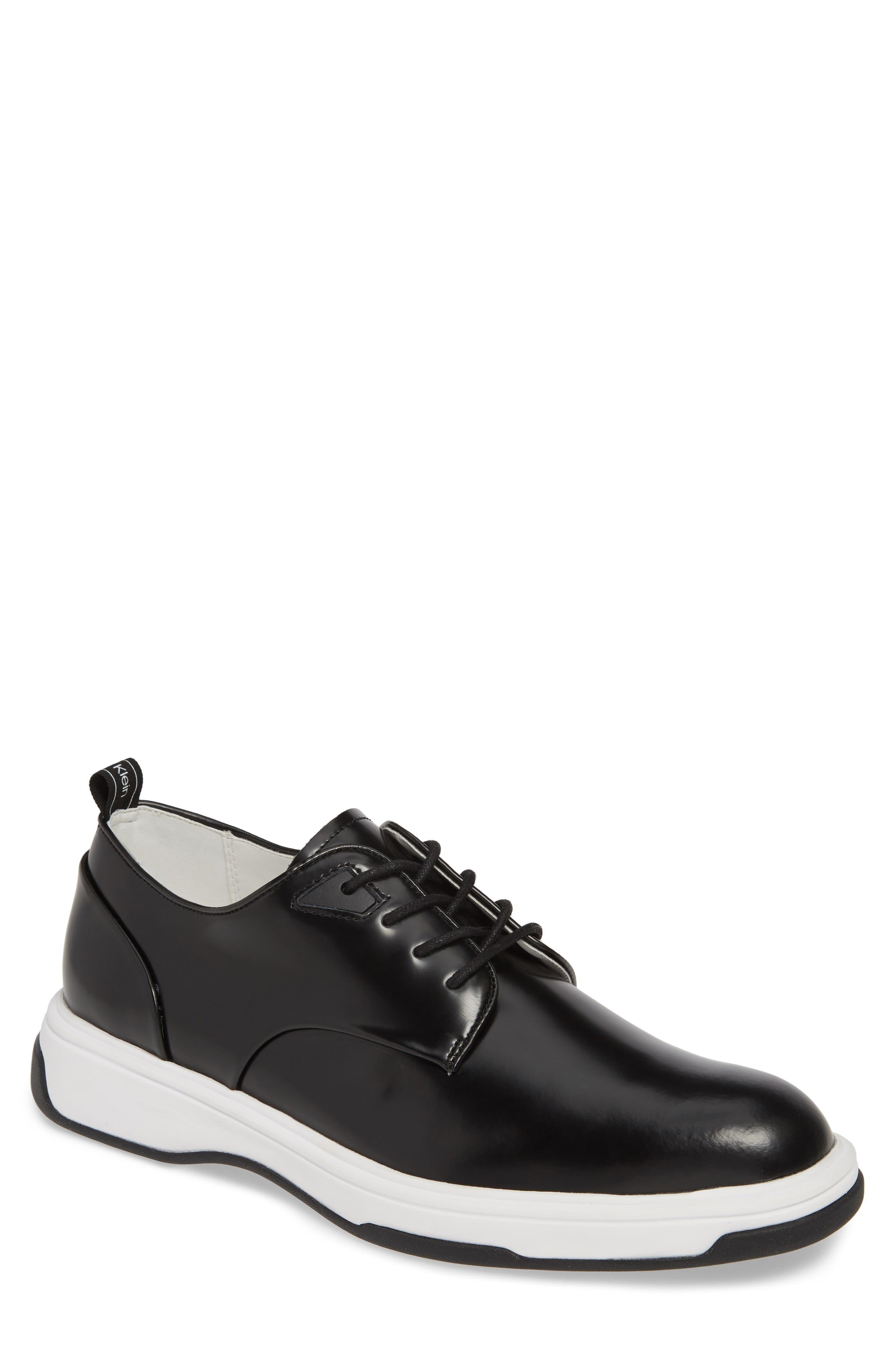 CALVIN KLEIN, Patsy Sneaker, Main thumbnail 1, color, BLACK