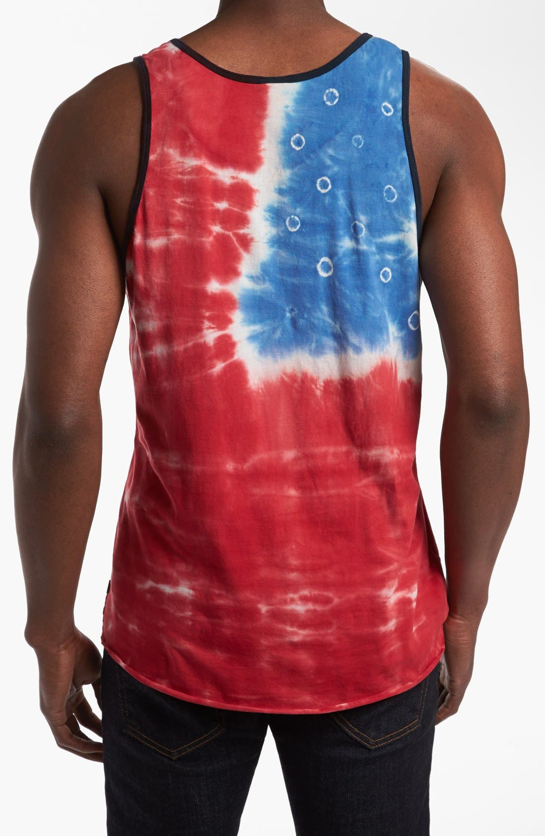 OBEY, 'American' Tank Top, Alternate thumbnail 2, color, 600