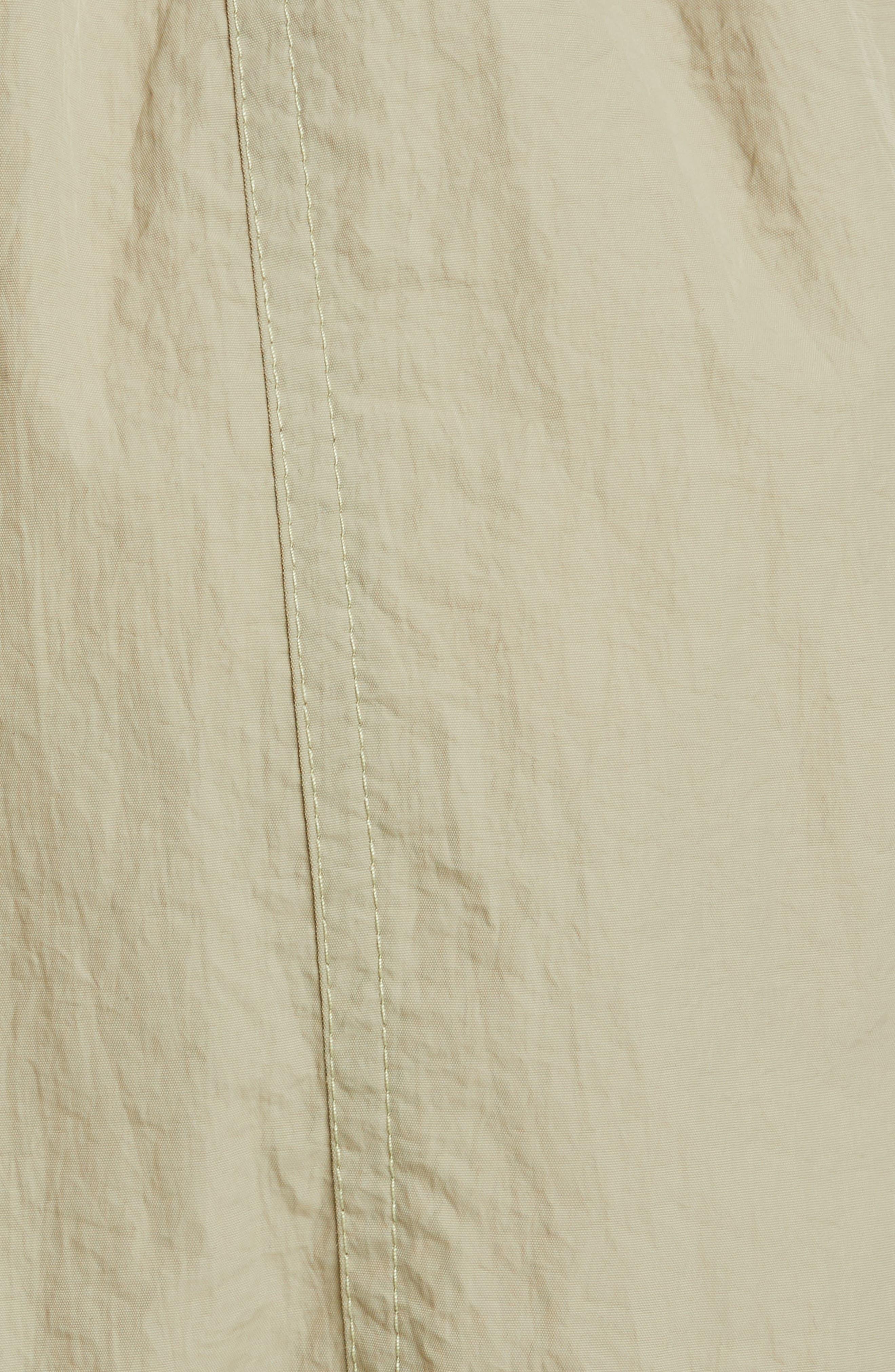 PROENZA SCHOULER, PSWL Drawstring Waist Parachute Shorts, Alternate thumbnail 5, color, MOSS