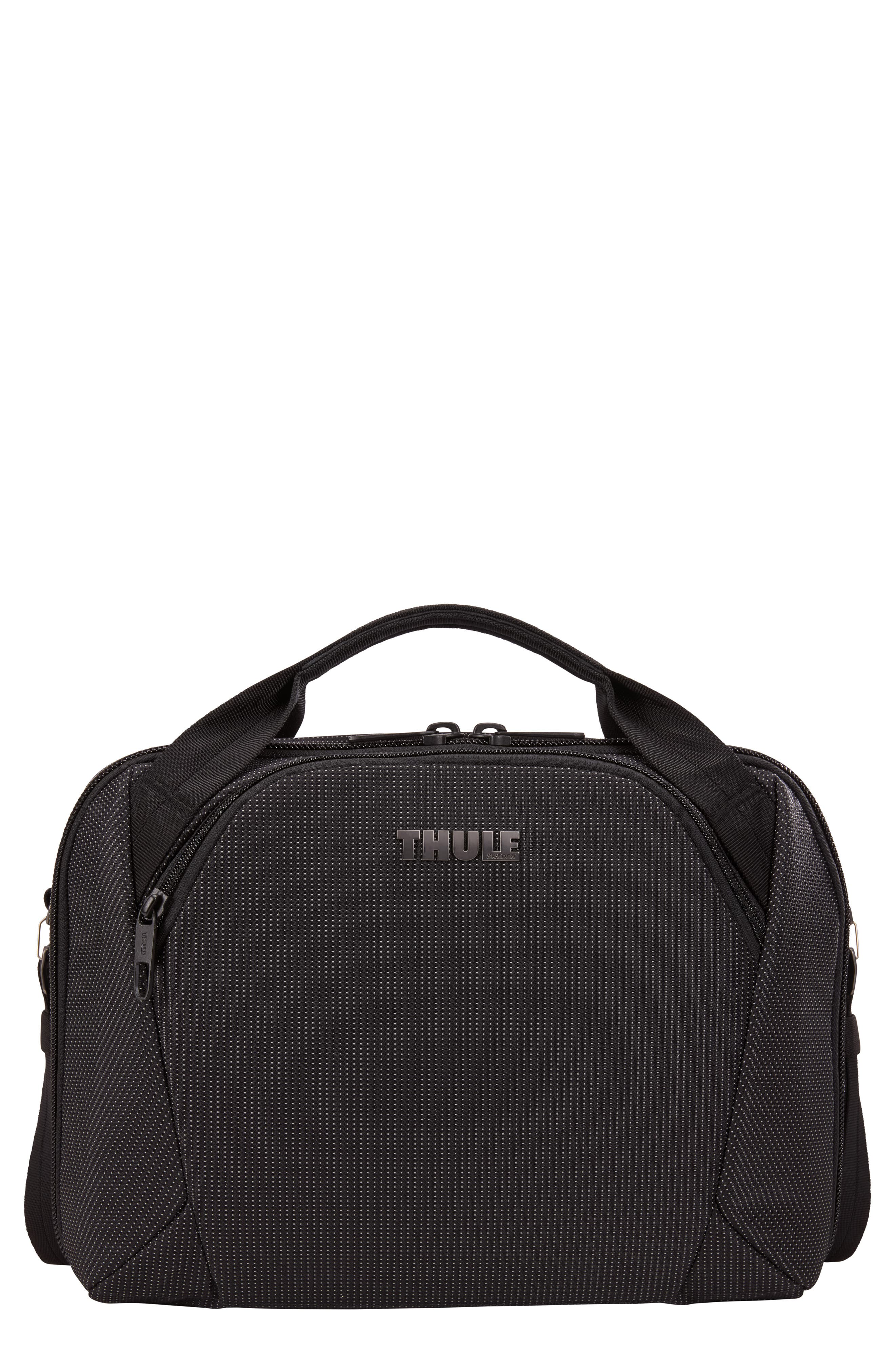 THULE, Crossover 2 Convertible Laptop Backpack, Main thumbnail 1, color, BLACK
