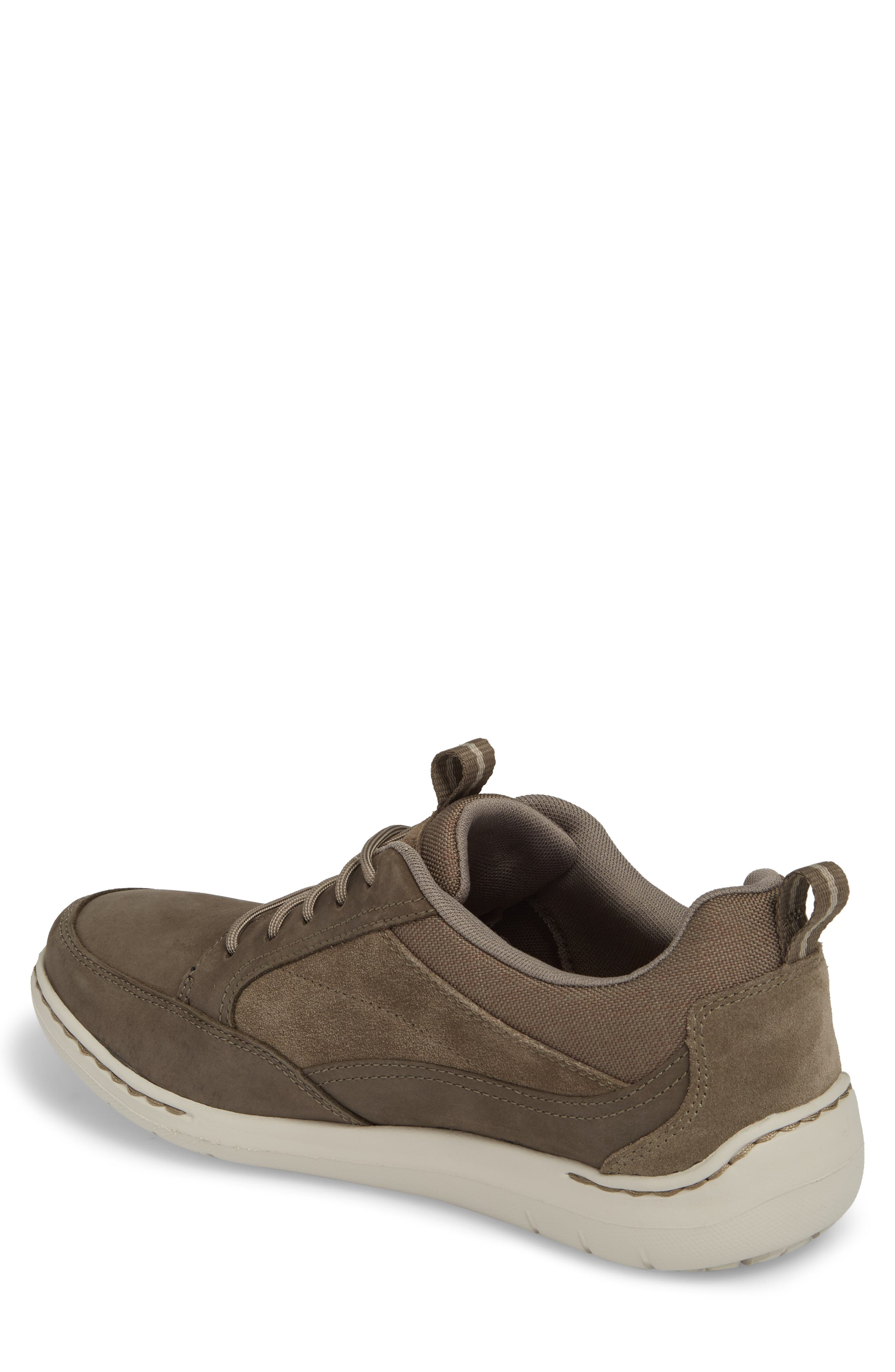 DUNHAM, D Fit Smart Sneaker, Alternate thumbnail 2, color, BROWN