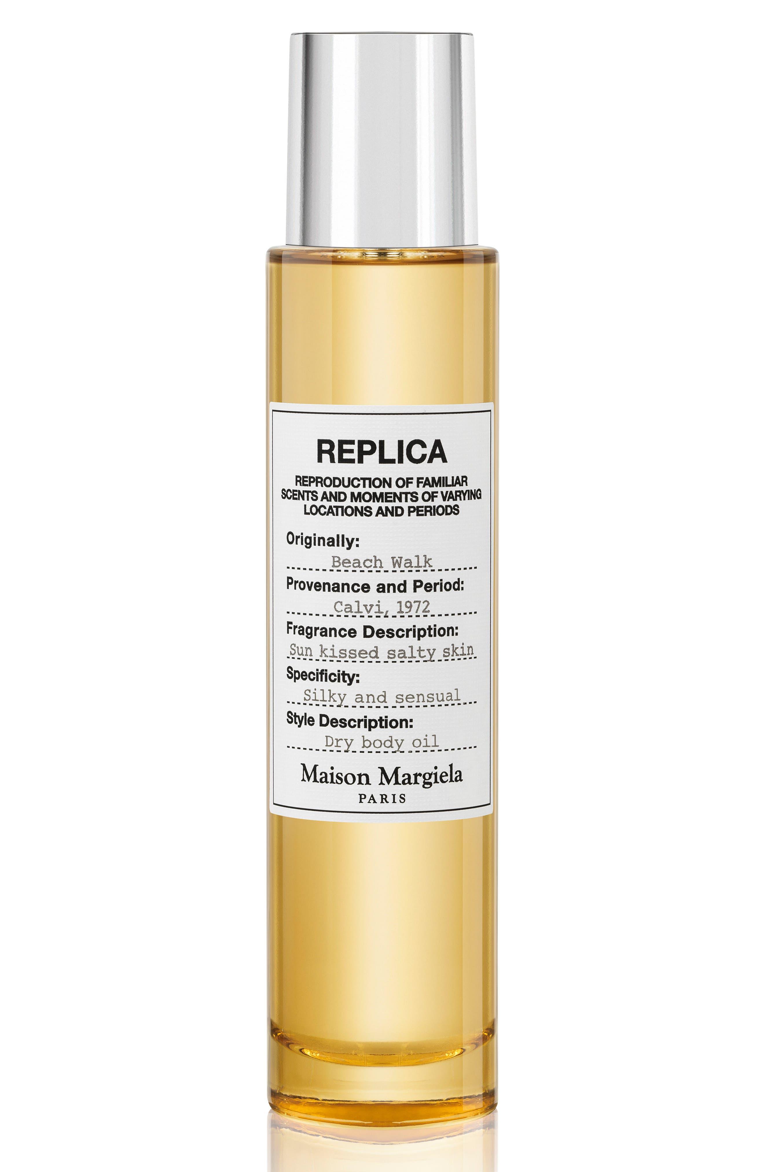 MAISON MARGIELA, Replica Beach Walk Perfumed Dry Body Oil, Main thumbnail 1, color, NO COLOR