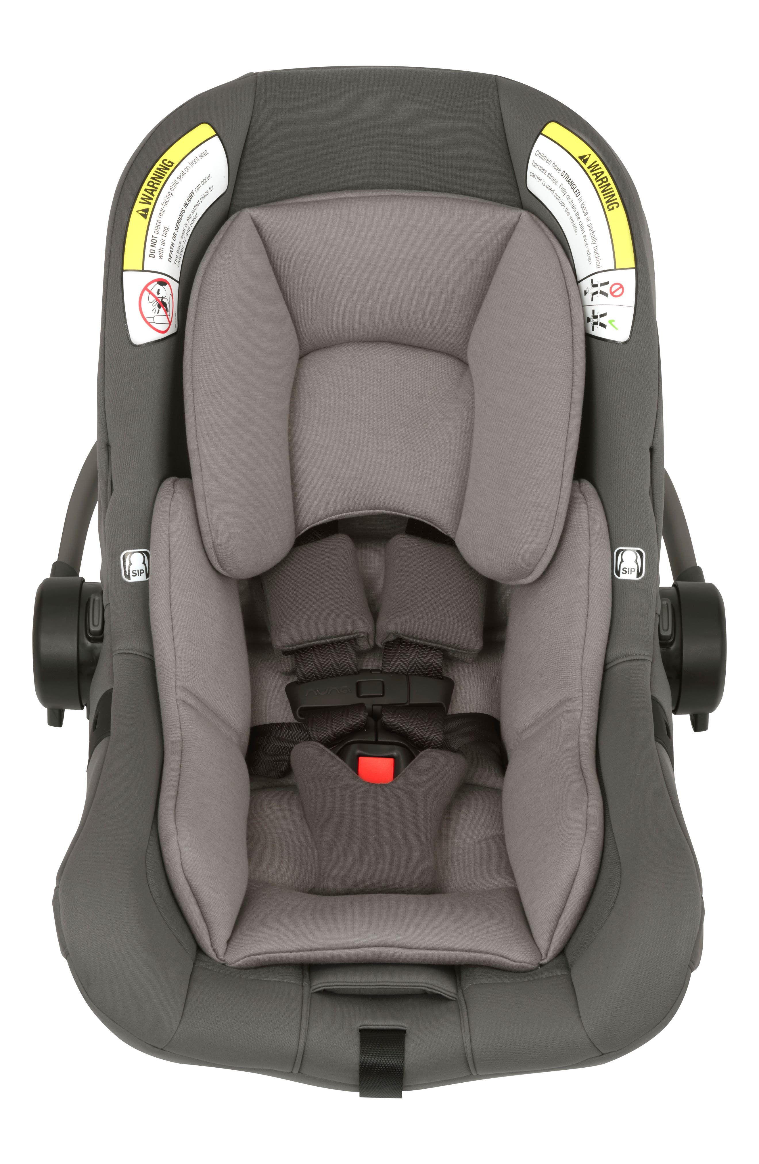 NUNA, PIPA<sup>™</sup> Lite LX Infant Car Seat & Base, Alternate thumbnail 3, color, FROST