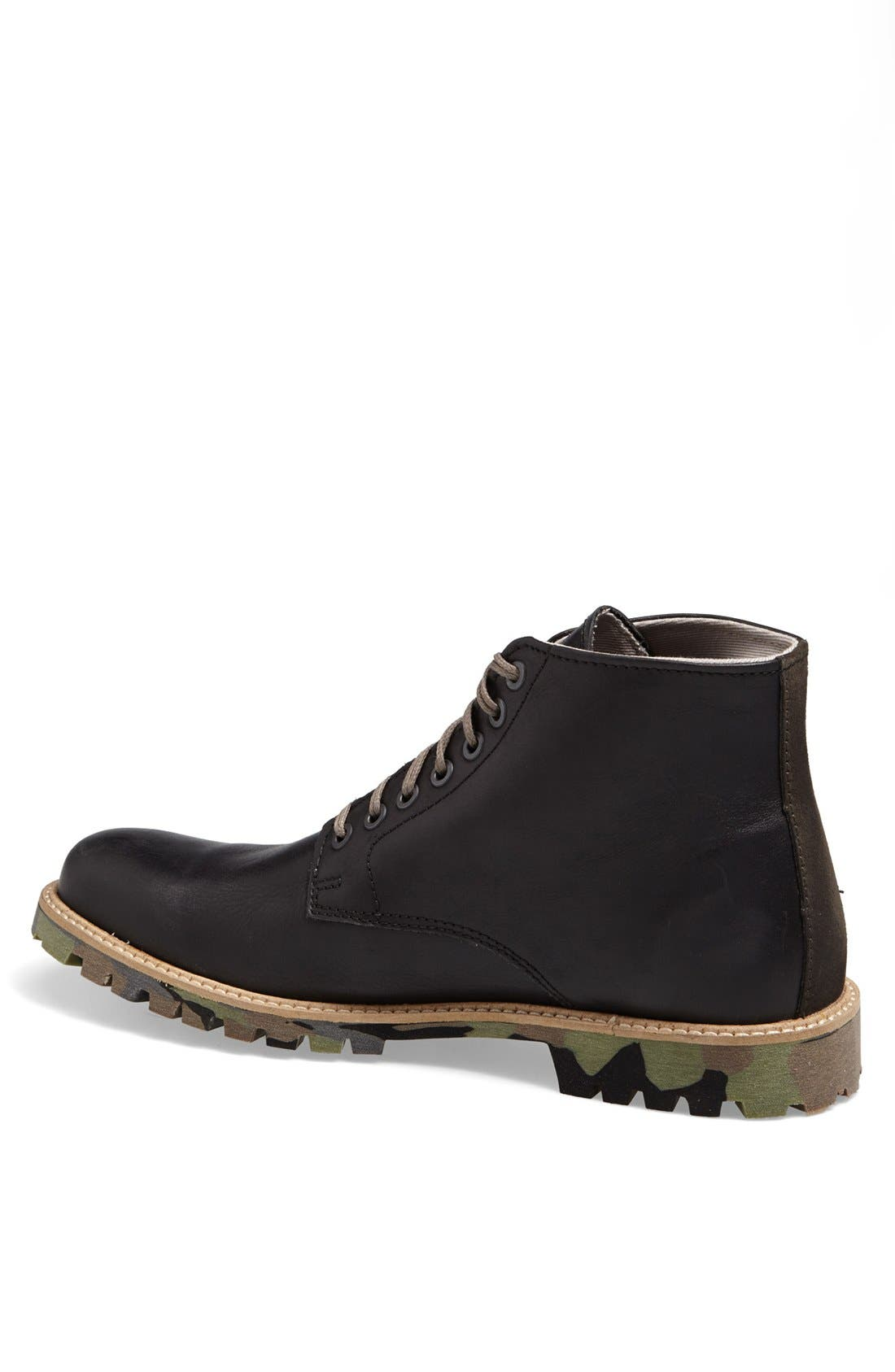 ALDO, 'Cetuur' Plain Toe Boot, Alternate thumbnail 3, color, 002