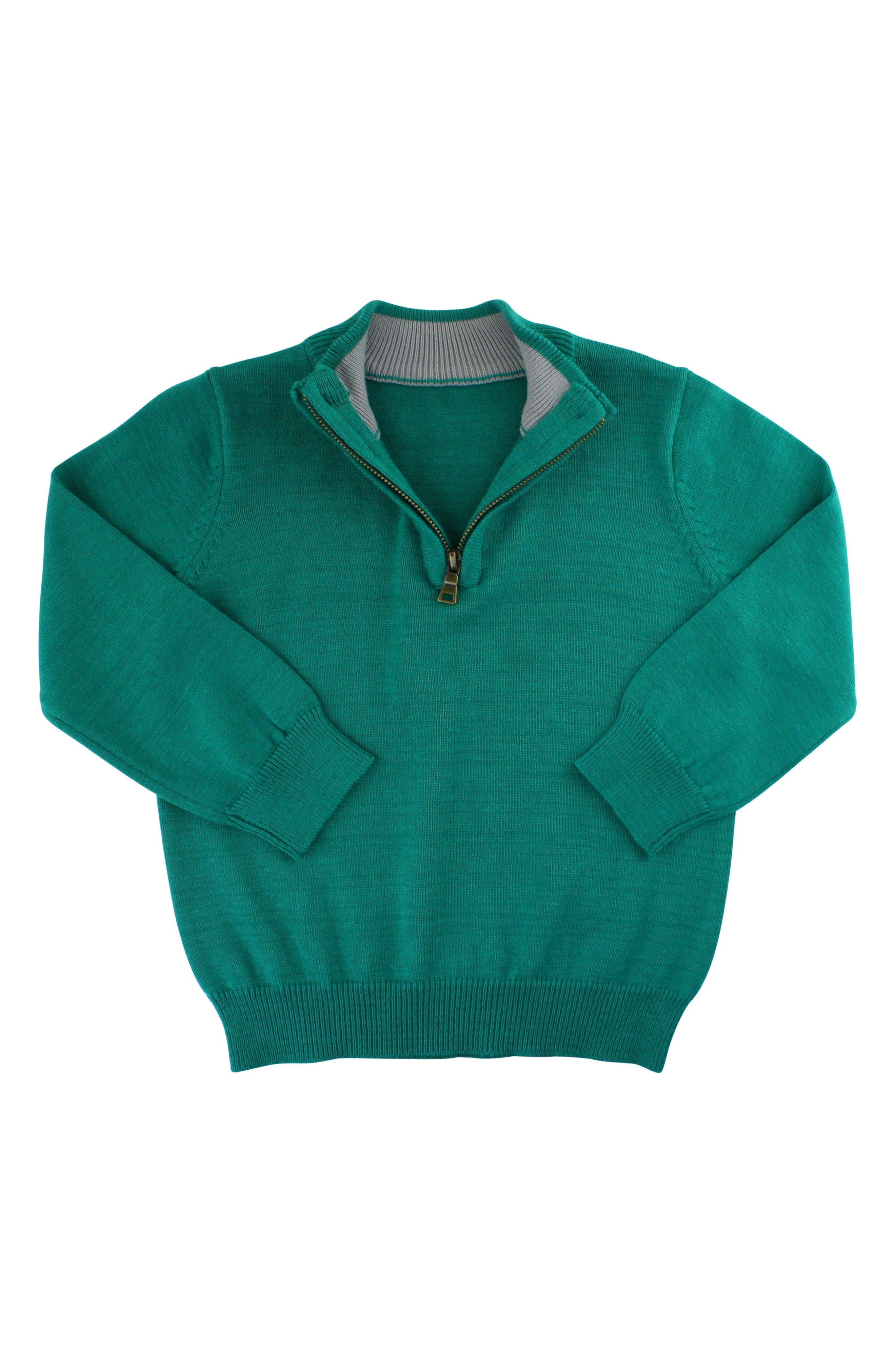 RUGGEDBUTTS, Gingham Shirt & Pullover Sweater Set, Alternate thumbnail 4, color, 300