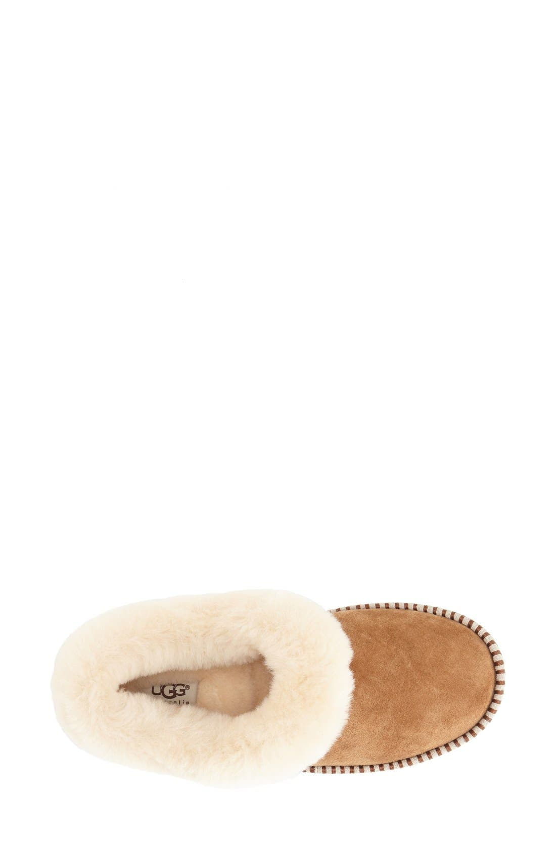UGG<SUP>®</SUP>, Wrin Slipper, Alternate thumbnail 2, color, CHESTNUT SUEDE