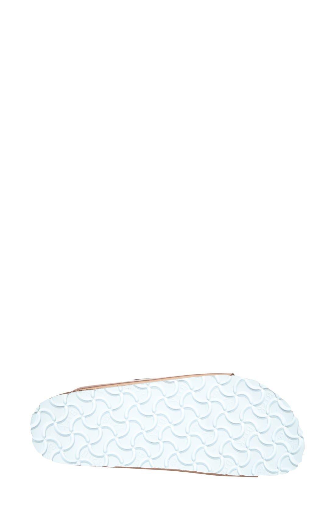 BIRKENSTOCK, 'Arizona' Soft Footbed Sandal, Alternate thumbnail 9, color, COPPER LEATHER