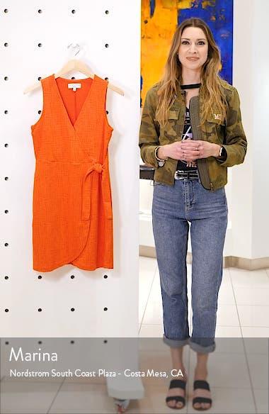 Texture & Thread Side Tie Minidress, sales video thumbnail