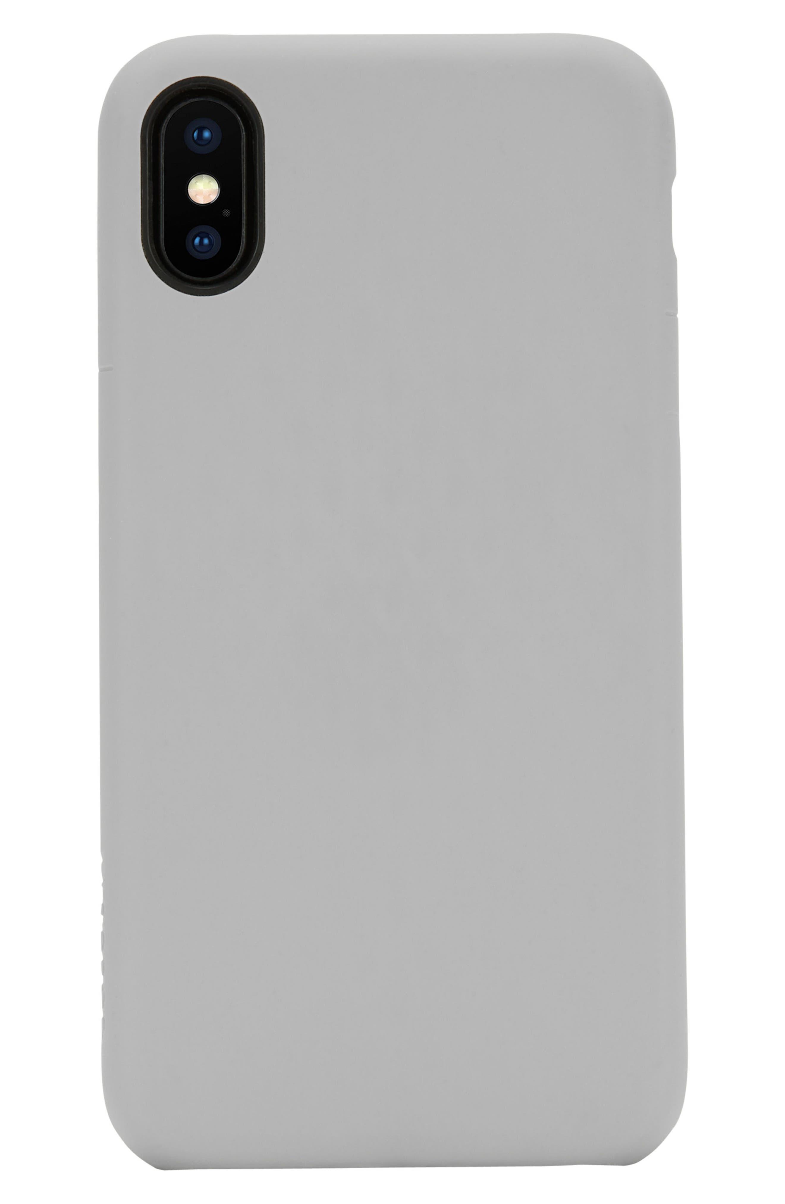 INCASE DESIGNS, Facet iPhone X & Xs Case, Alternate thumbnail 4, color, SLATE