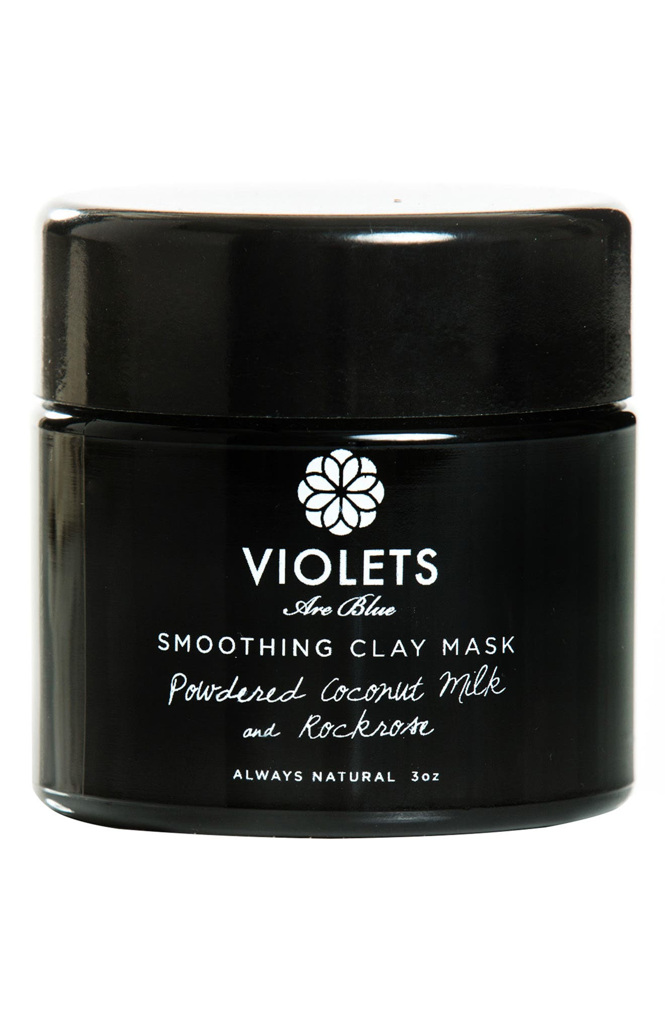 VIOLETS ARE BLUE Smoothing Clay Mask, Main, color, NO COLOR