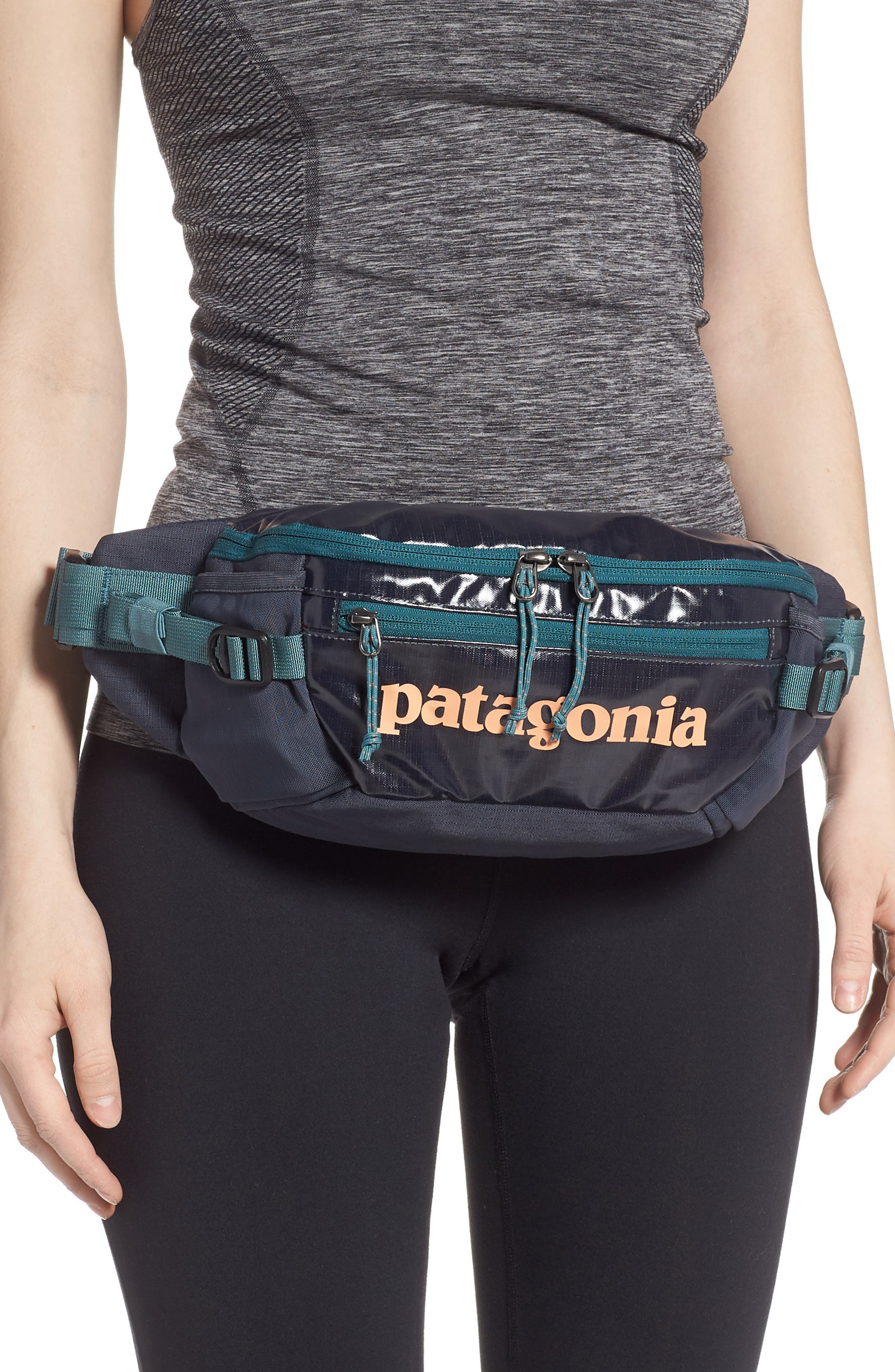PATAGONIA, Black Hole Waist Pack, Alternate thumbnail 2, color, SMOLDER BLUE
