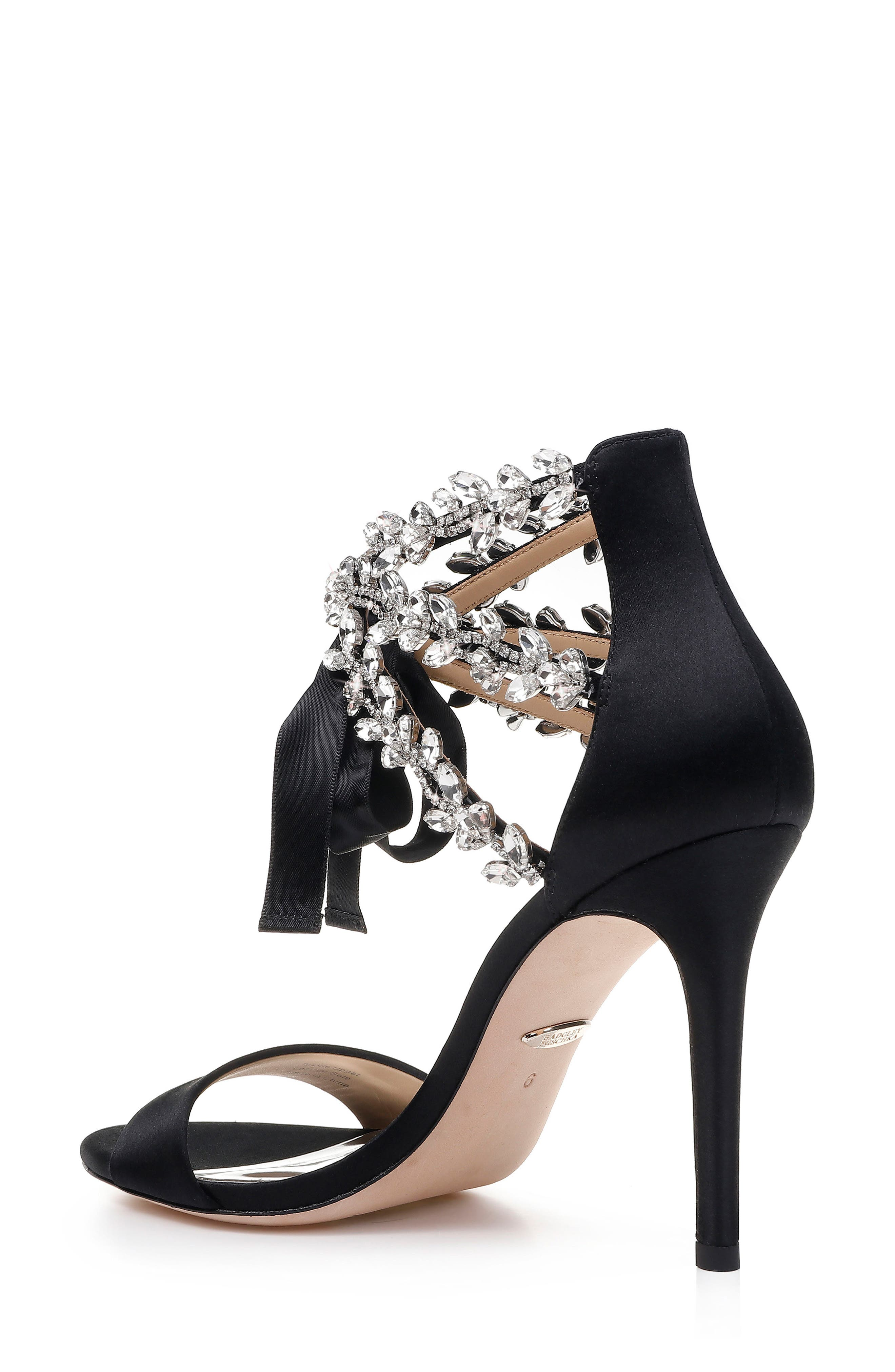 BADGLEY MISCHKA COLLECTION, Badgley Mischka Felicia Embellished Sandal, Alternate thumbnail 2, color, 015