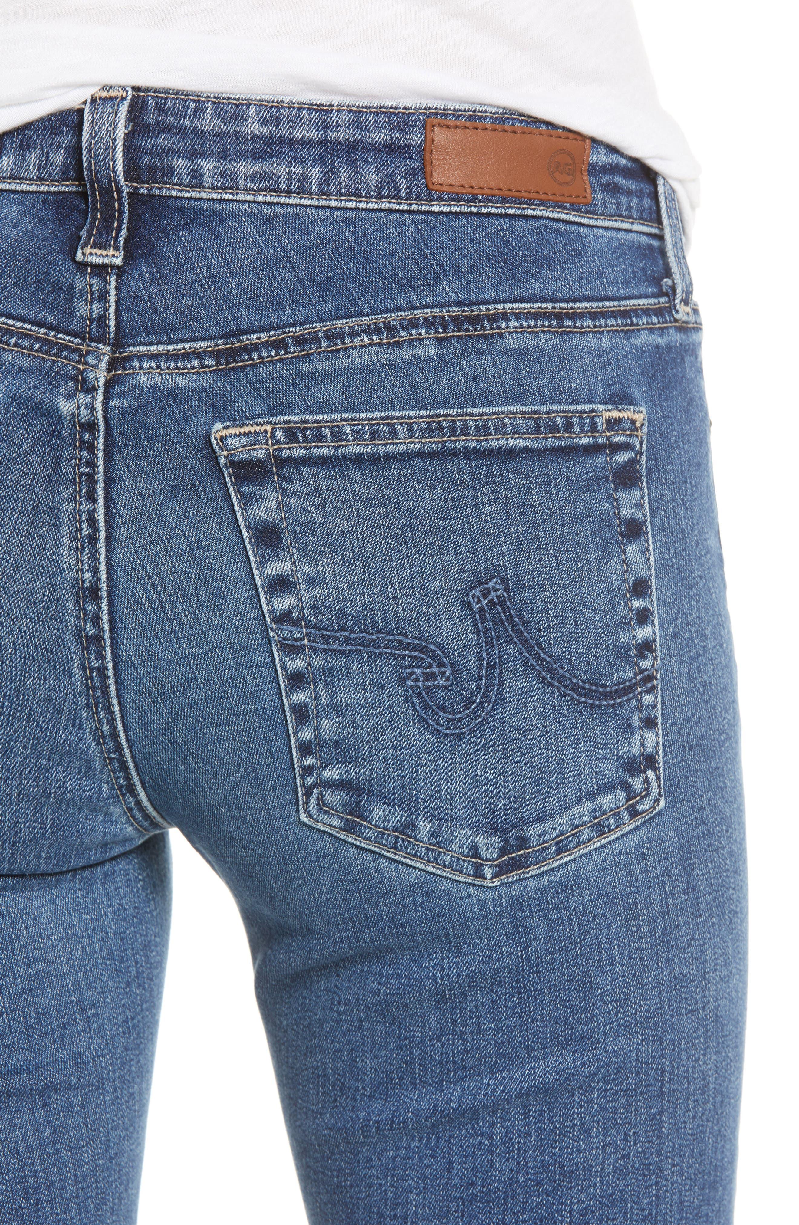 AG, Angel Flare Jeans, Alternate thumbnail 5, color, 12 YEARS FLUID