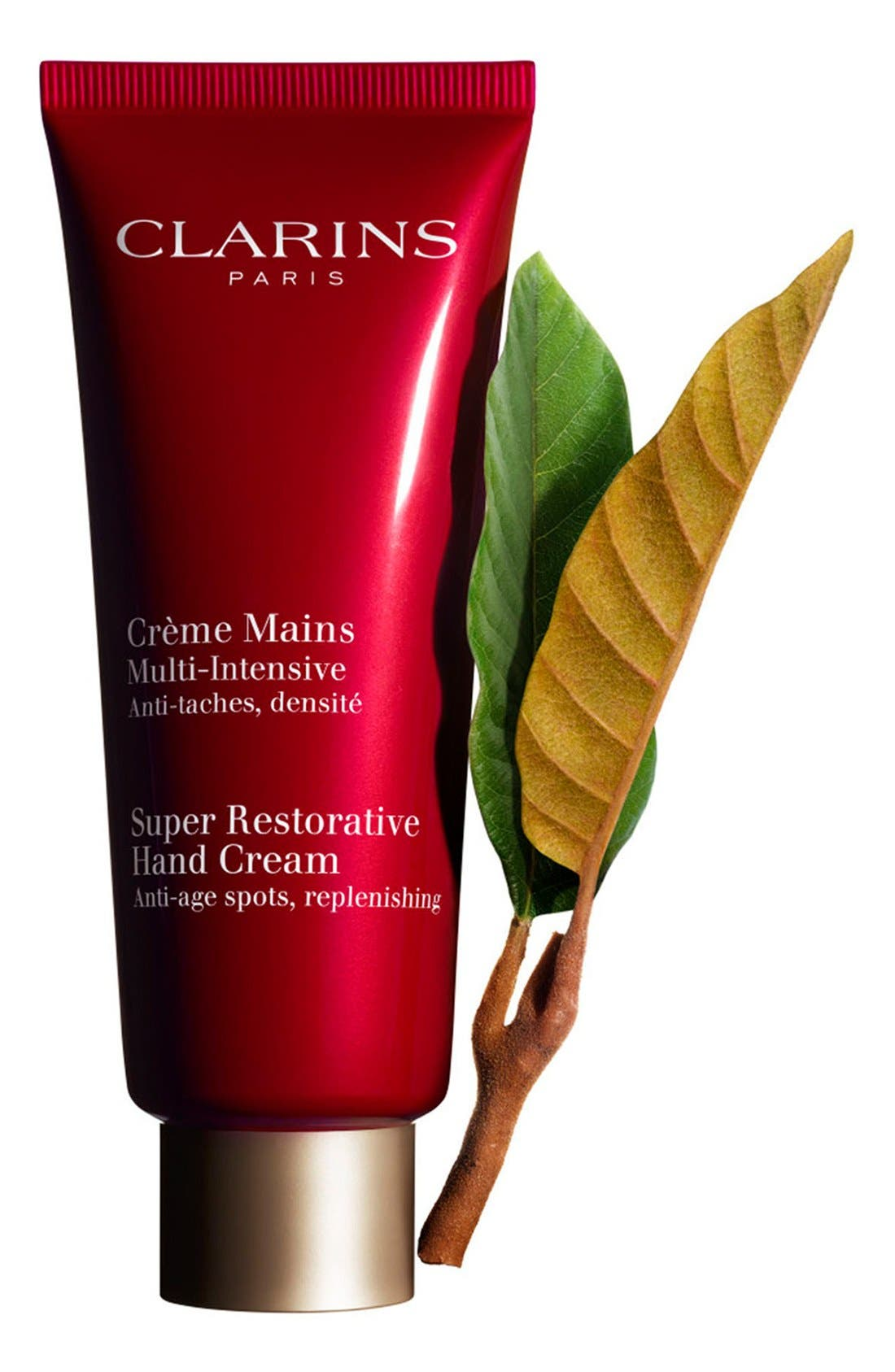 CLARINS, Super Restorative Hand & Nail Treatment Cream, Alternate thumbnail 2, color, NO COLOR