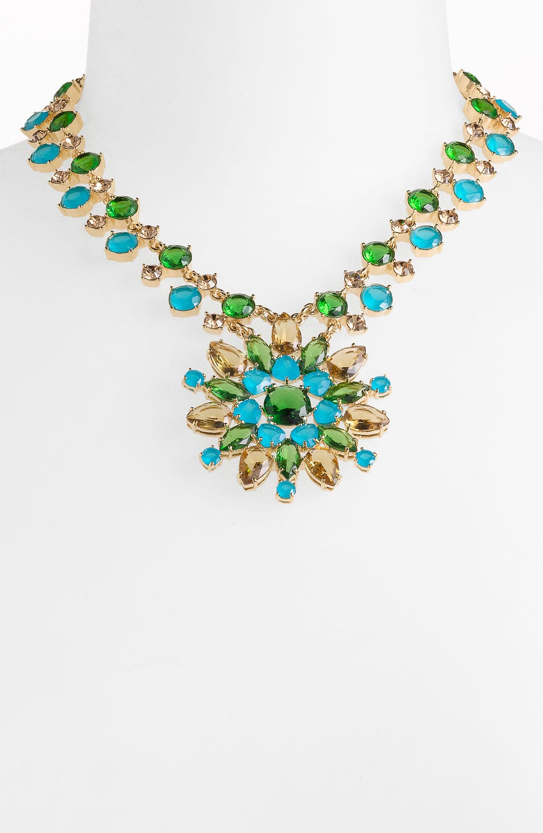 KATE SPADE NEW YORK, 'solarium' pendant necklace, Main thumbnail 1, color, 440