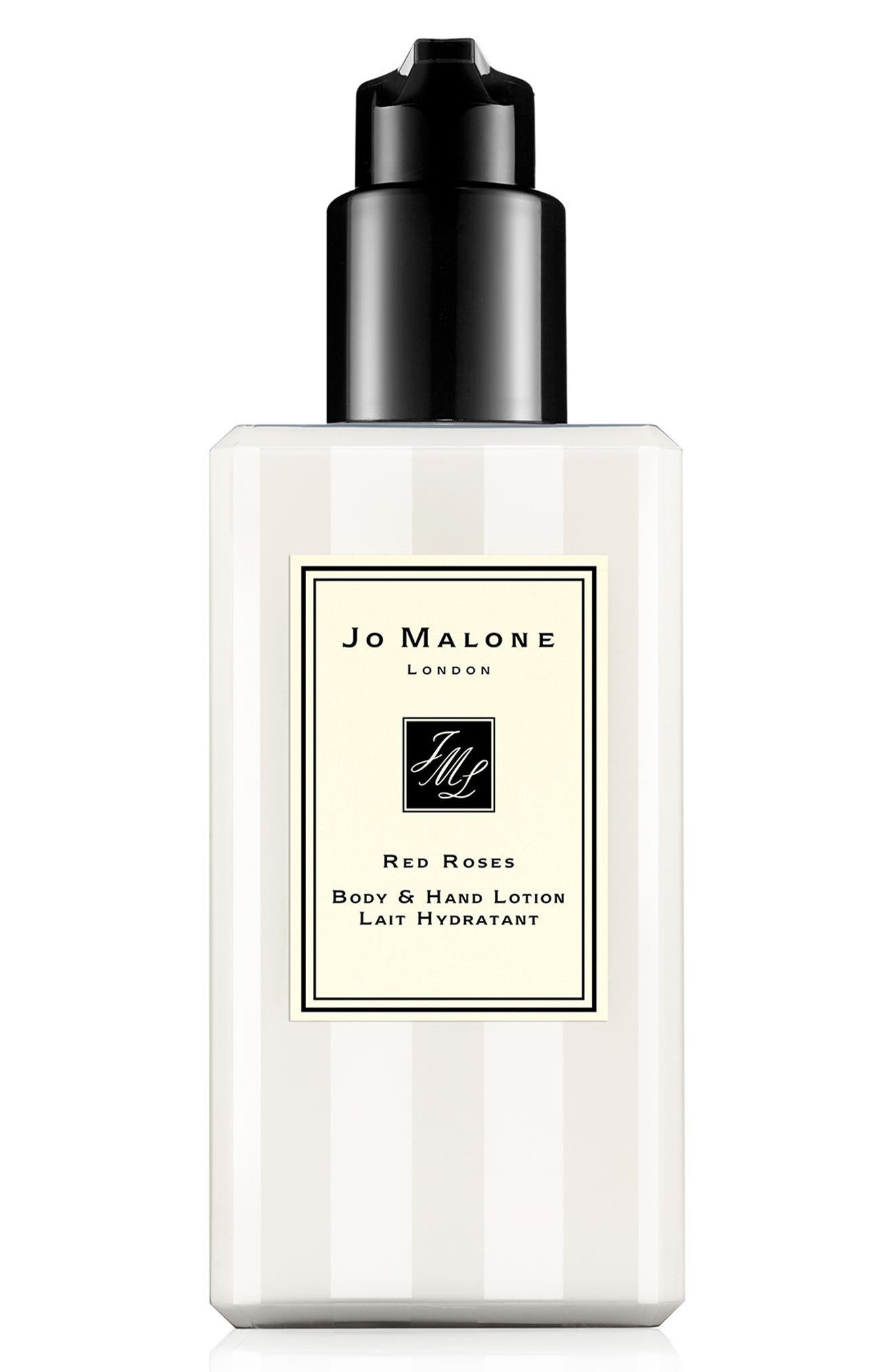 JO MALONE LONDON<SUP>™</SUP>, Red Roses Body Lotion, Main thumbnail 1, color, NO COLOR