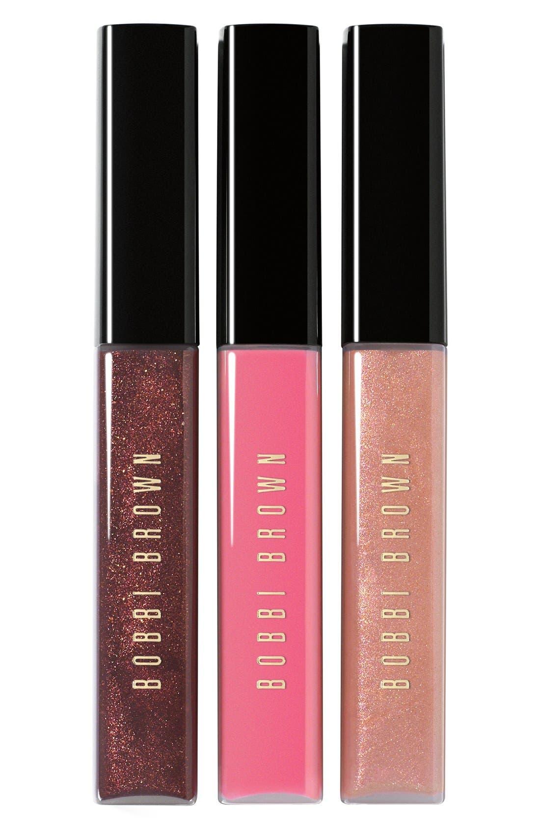 BOBBI BROWN Lip Gloss Trio, Main, color, 000