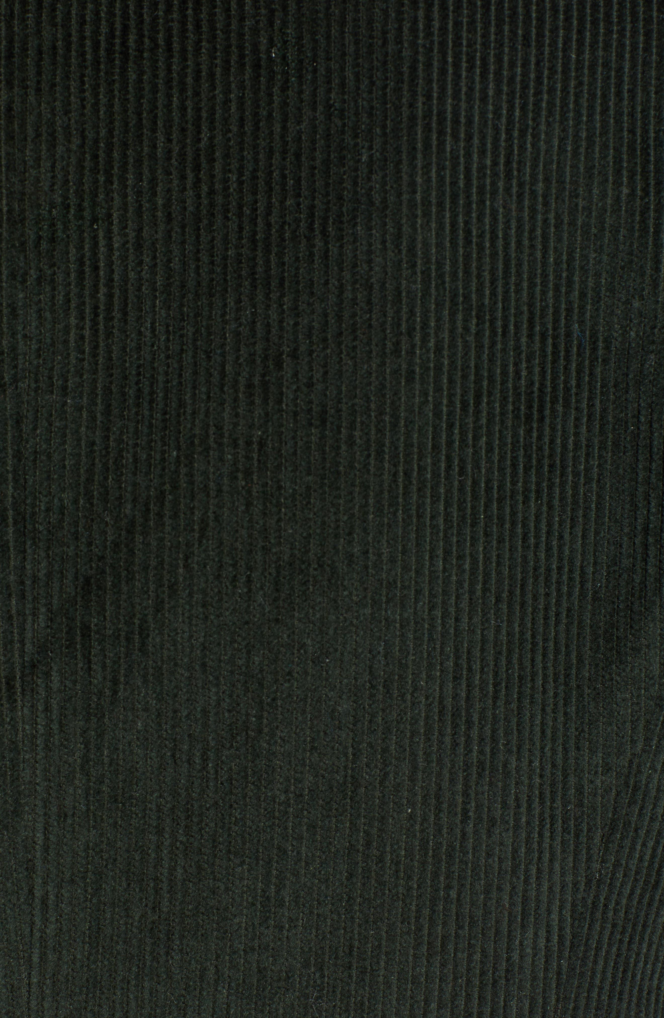 TREASURE & BOND, Double Breasted Corduroy Blazer, Alternate thumbnail 7, color, 301
