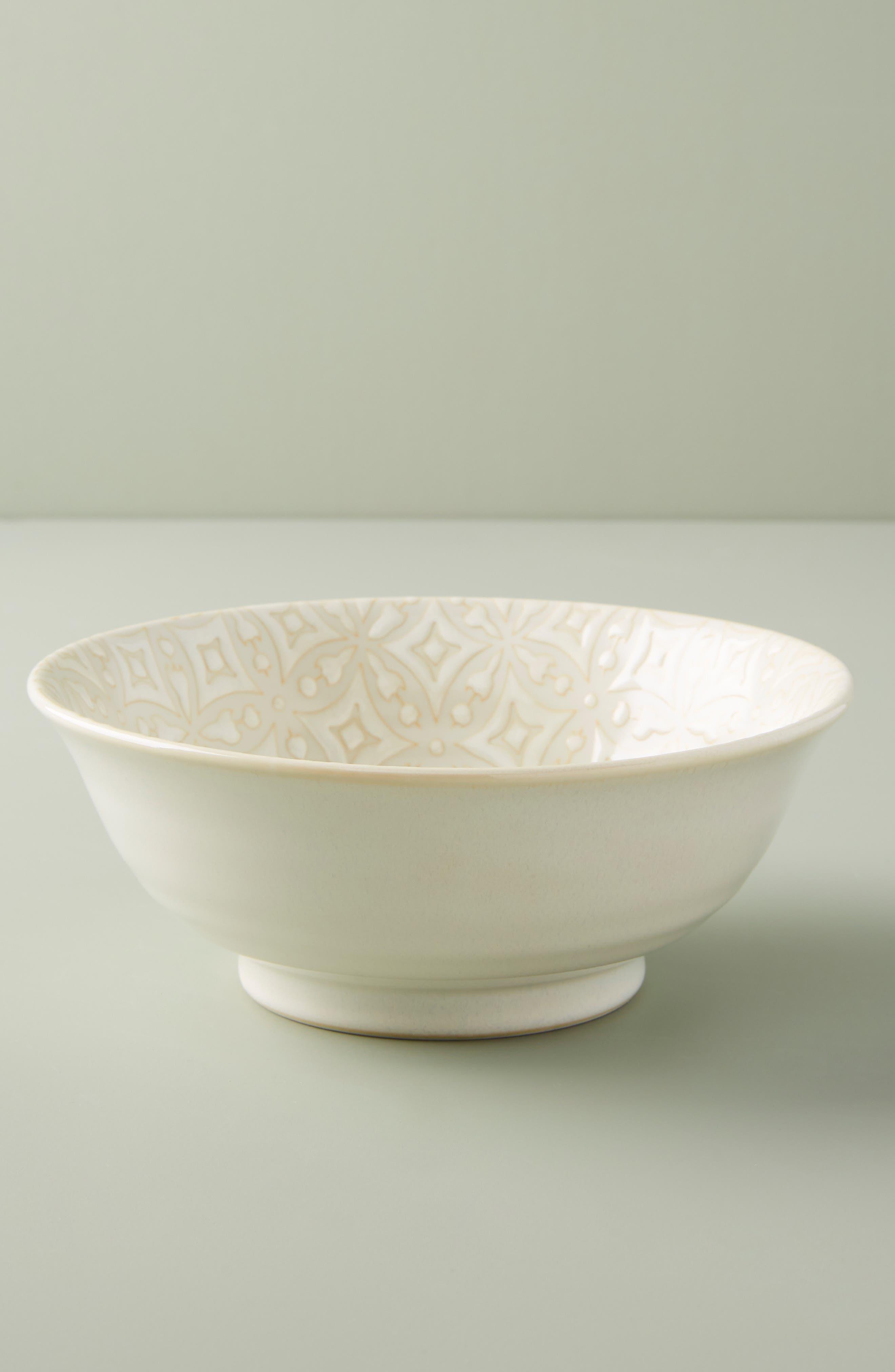 ANTHROPOLOGIE, Morocco Bowl, Alternate thumbnail 2, color, WHITE
