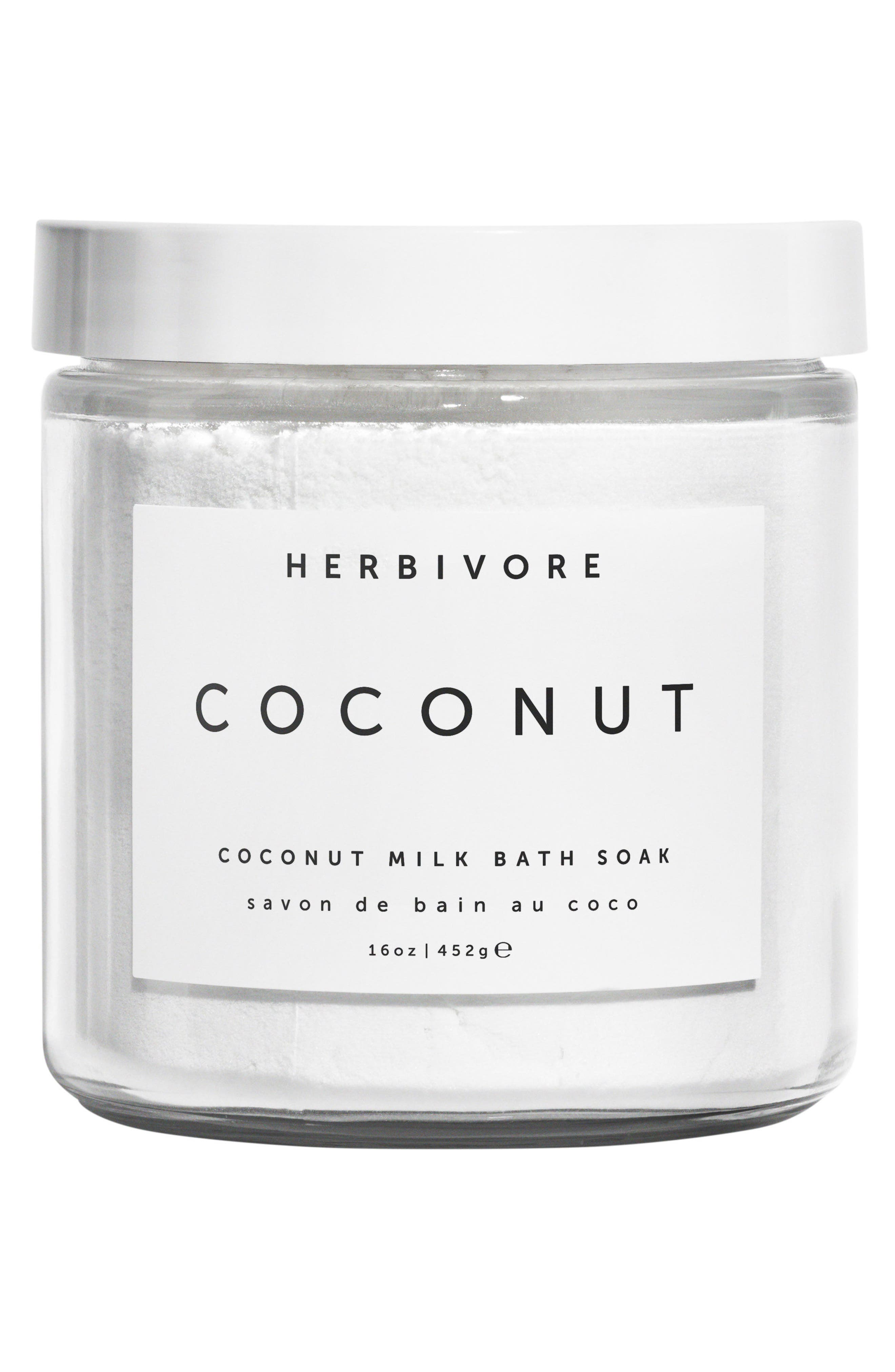 HERBIVORE BOTANICALS, Coconut Soak, Main thumbnail 4, color, NO COLOR