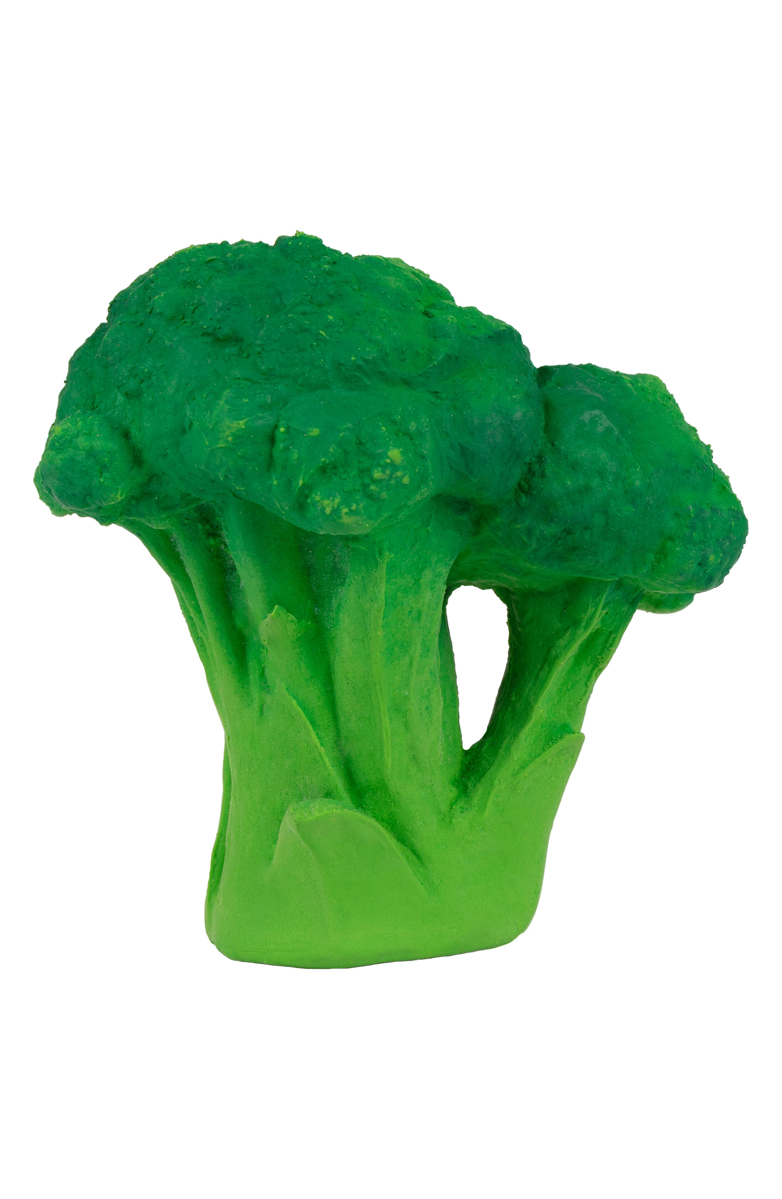 OLI & CAROL, Oli and Carol Brucy the Broccoli Teething Toy, Alternate thumbnail 2, color, GREEN