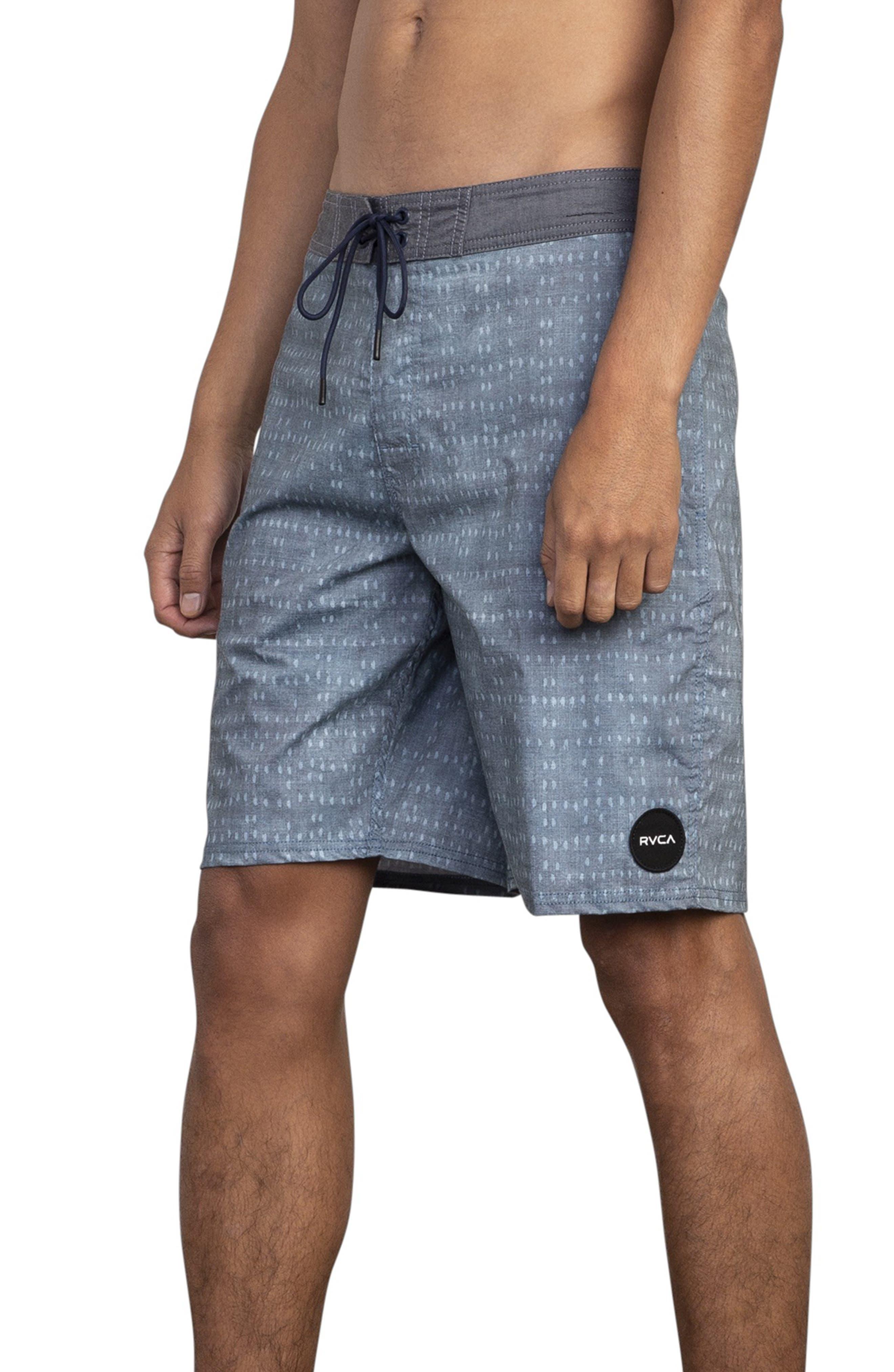 RVCA, Nakama Board Shorts, Alternate thumbnail 3, color, DENIM