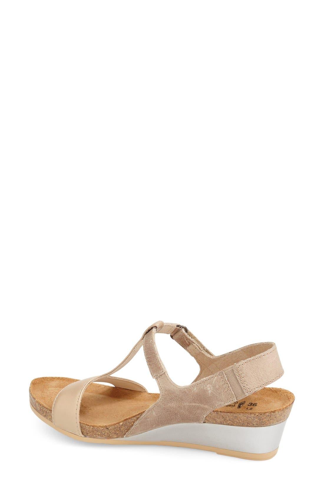 NAOT, 'Unicorn' T-Strap Sandal, Alternate thumbnail 2, color, 250