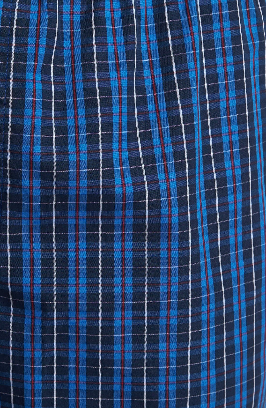 POLO RALPH LAUREN, Woven Pajama Pants, Alternate thumbnail 3, color, HARWICH PLAID