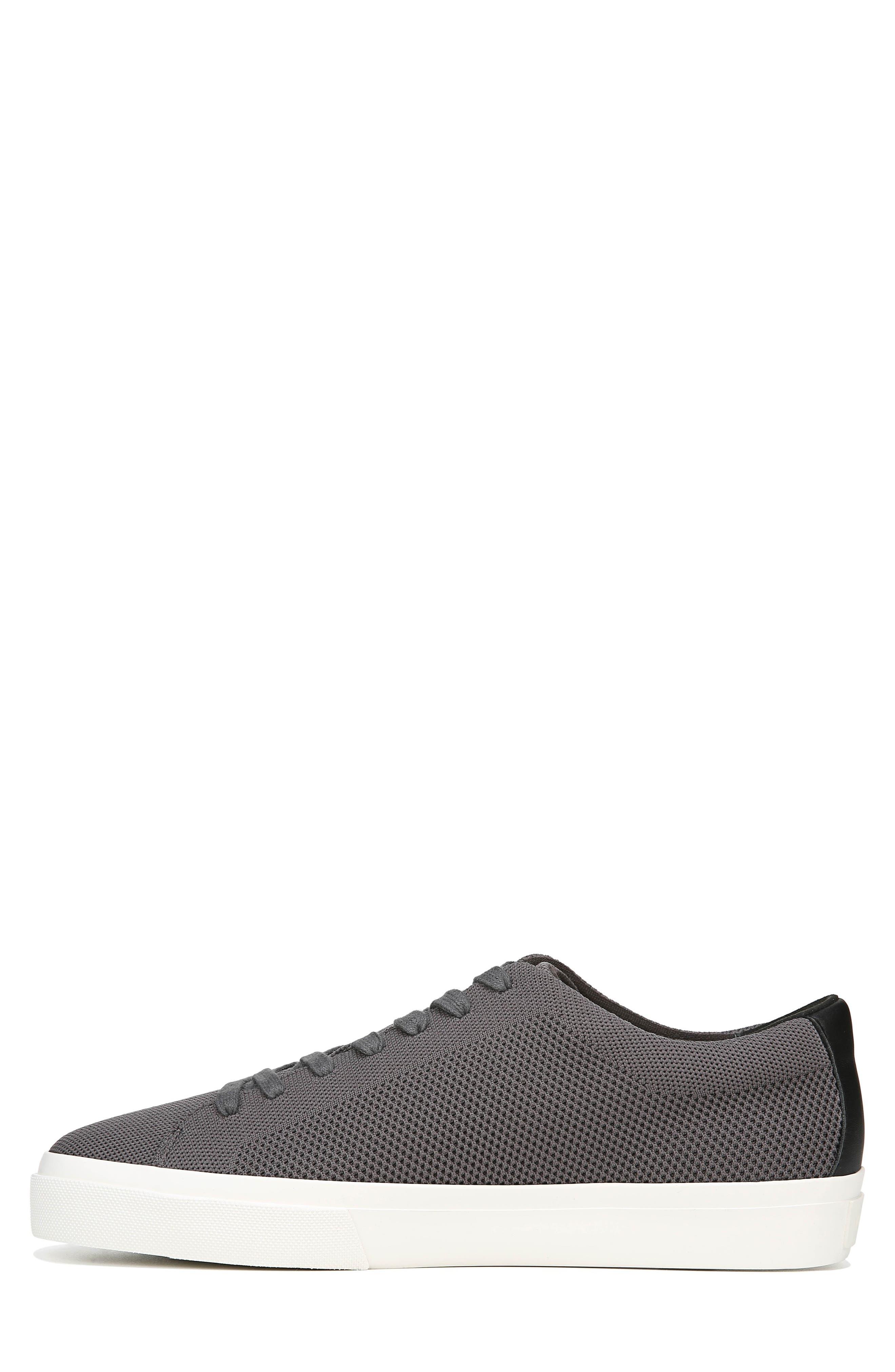 VINCE, Farrell Sneaker, Alternate thumbnail 9, color, GRAPHITE/ BLACK