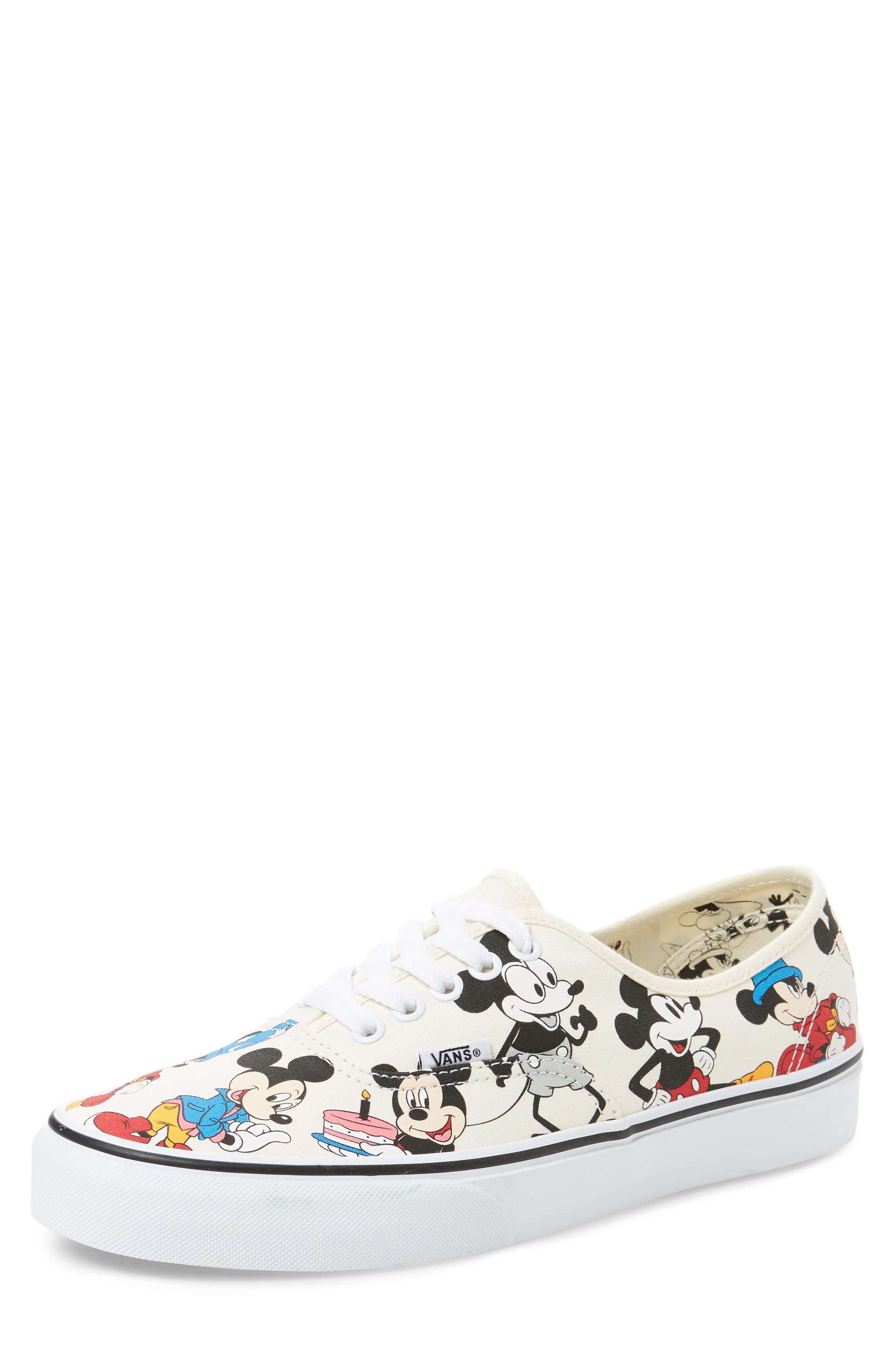 VANS, x Disney Authentic Low Top Sneaker, Main thumbnail 1, color, 250