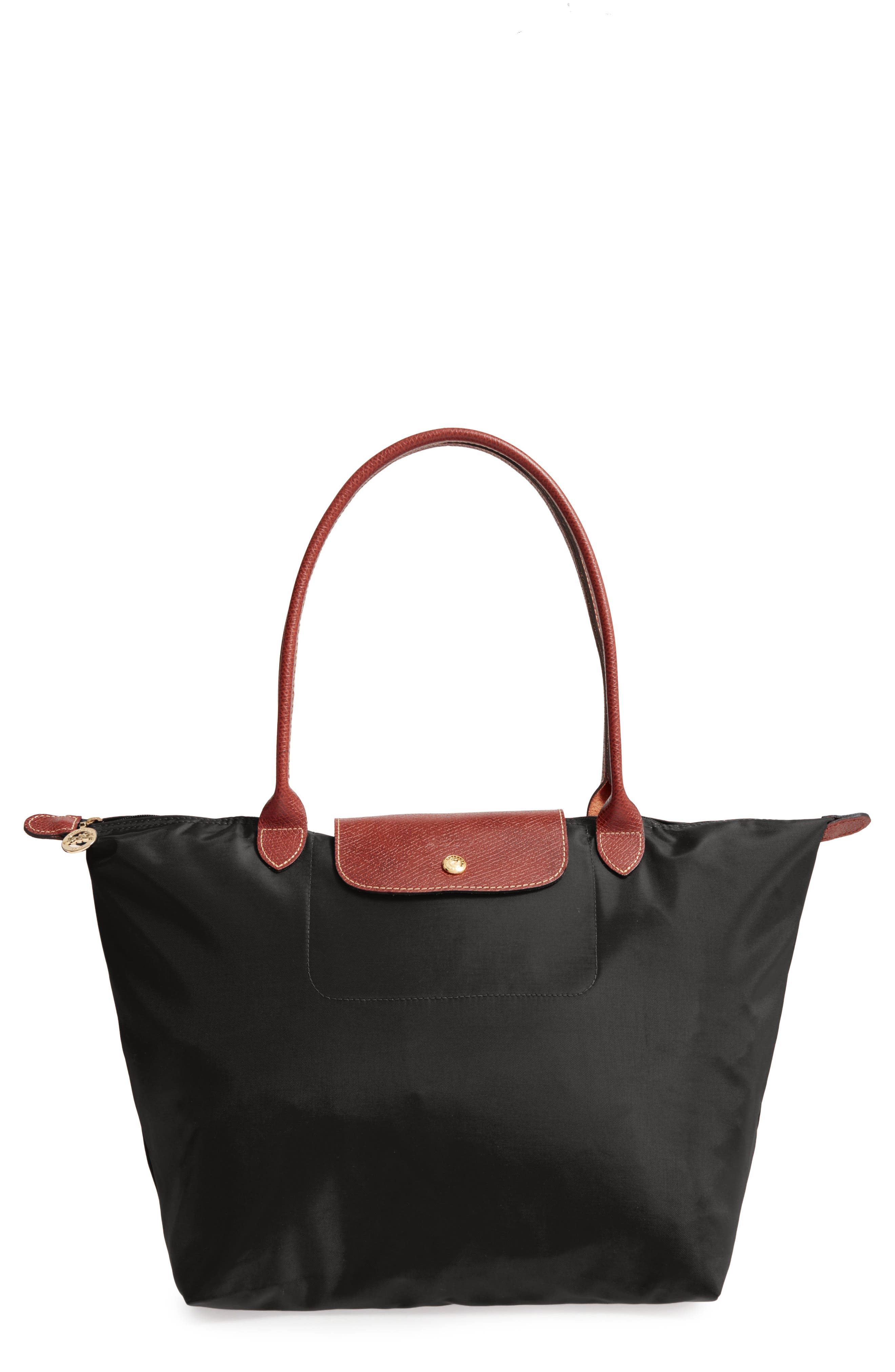 Longchamp Large Le Pliage Tote - Black