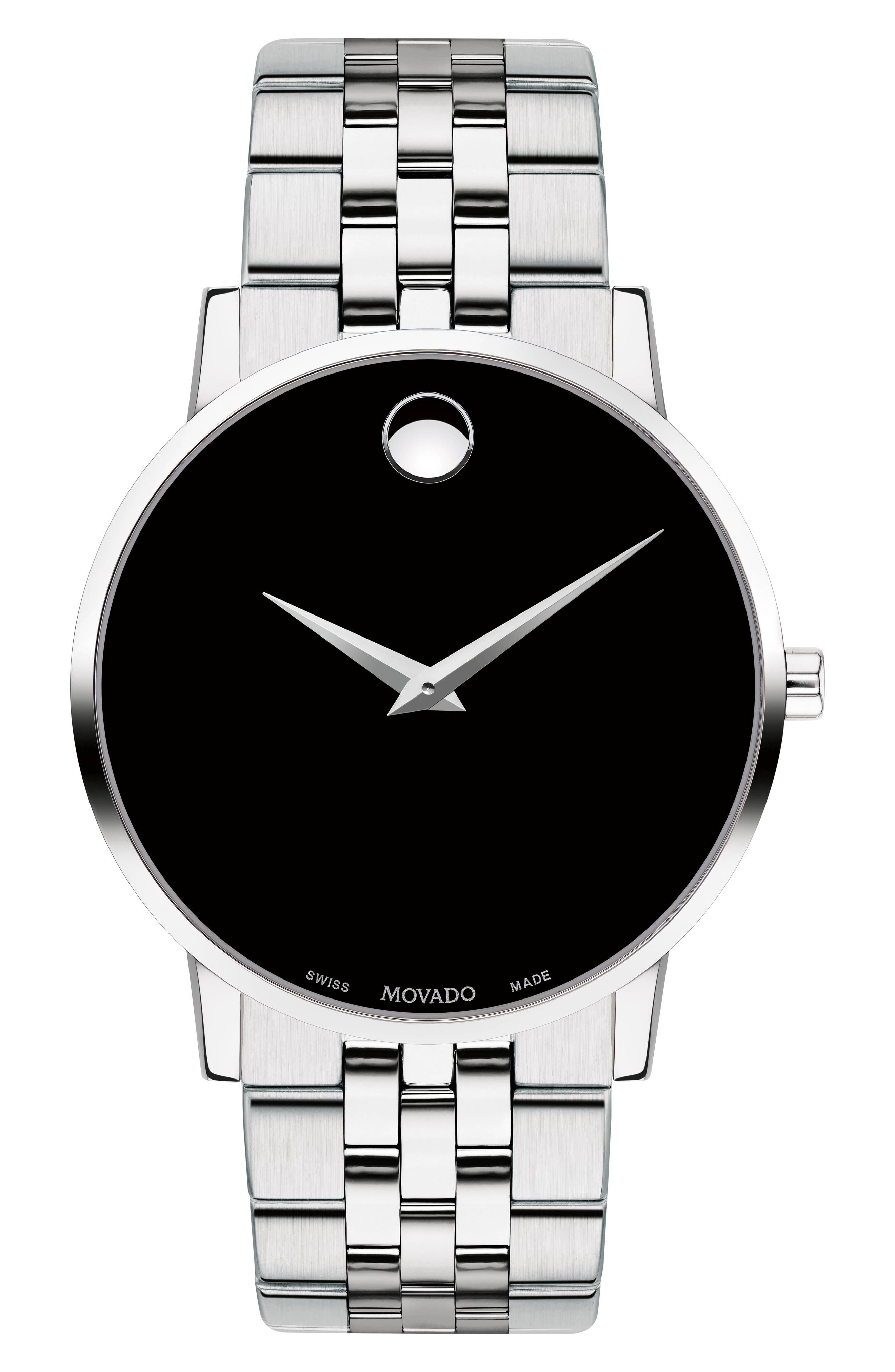 MOVADO Bracelet Watch, 40mm, Main, color, 040
