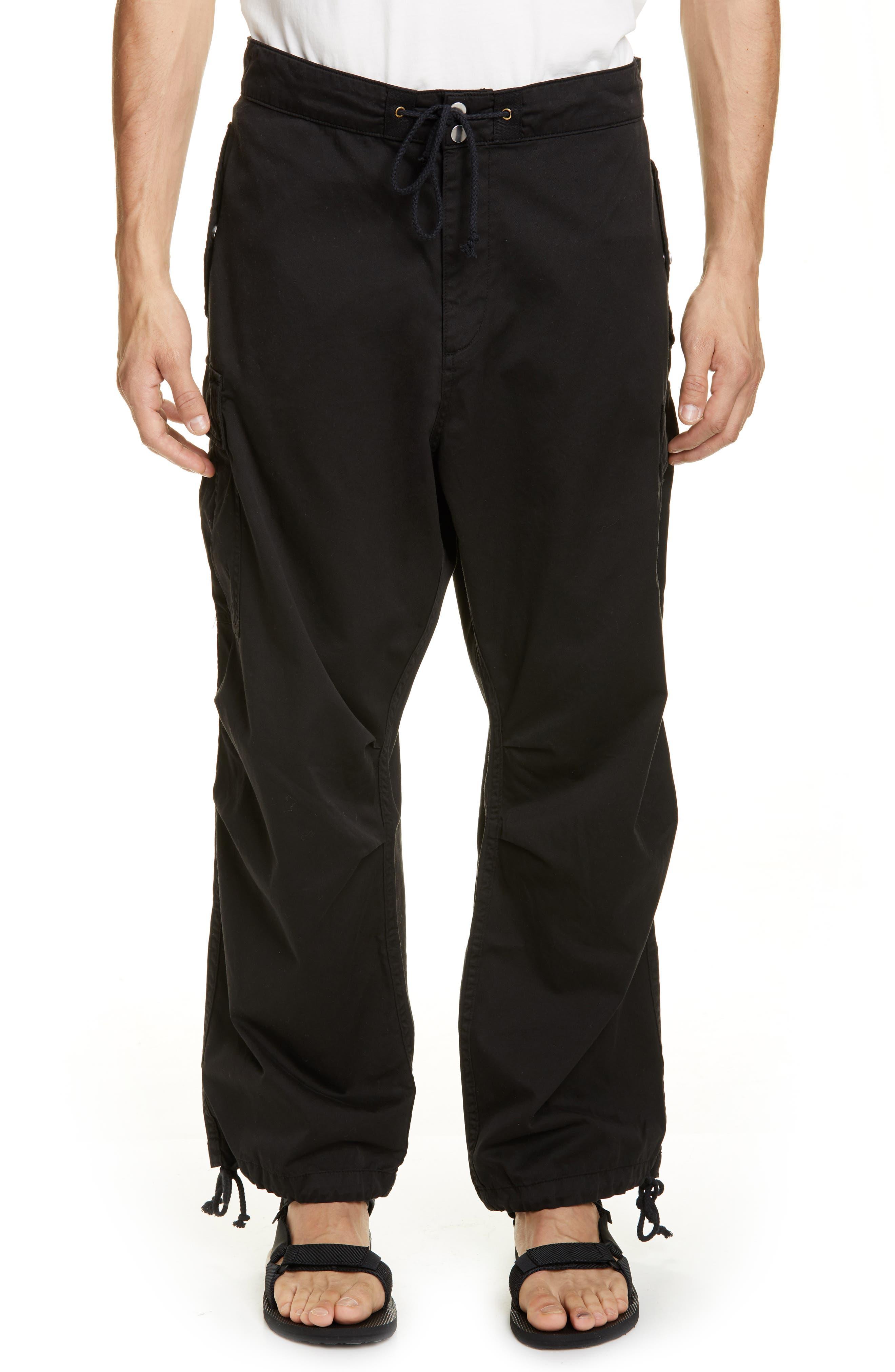 Billy Los Angeles Parachute Cargo Pants, Black