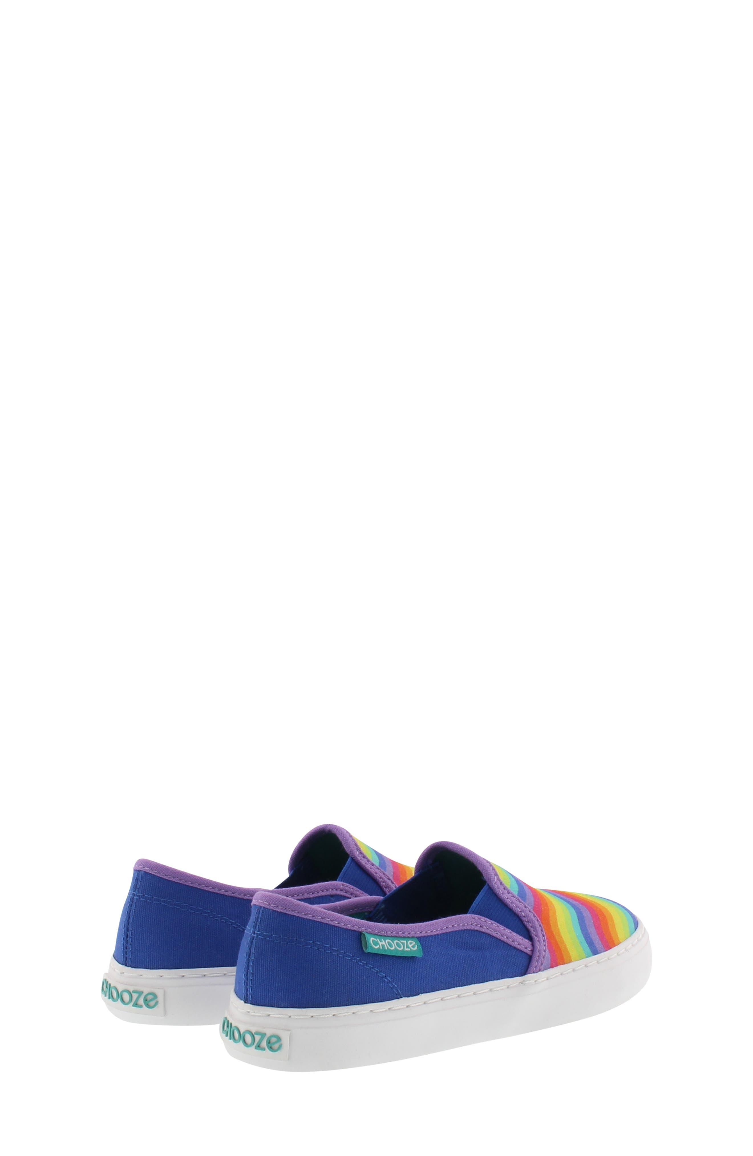 CHOOZE, Motion Slip-On Sneaker, Alternate thumbnail 2, color, BLUE MULTI