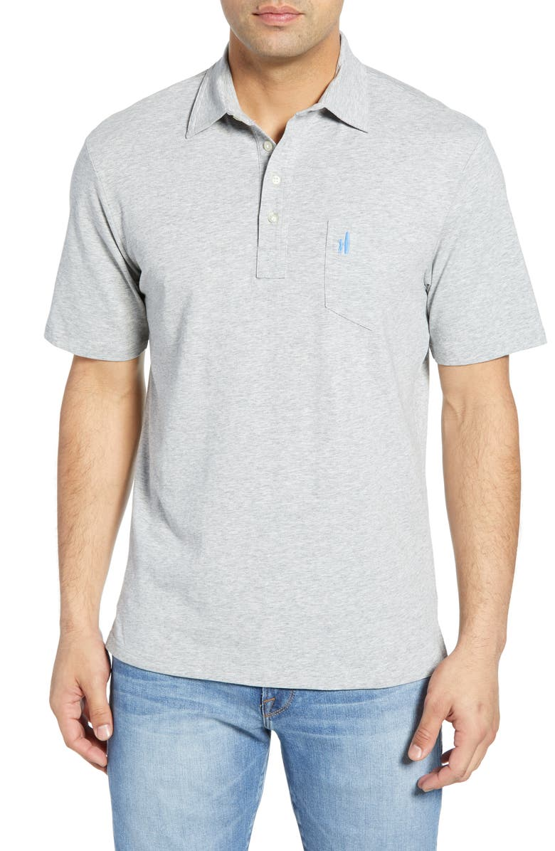 Johnnie-O Tops CLASSIC FIT HEATHERED POLO