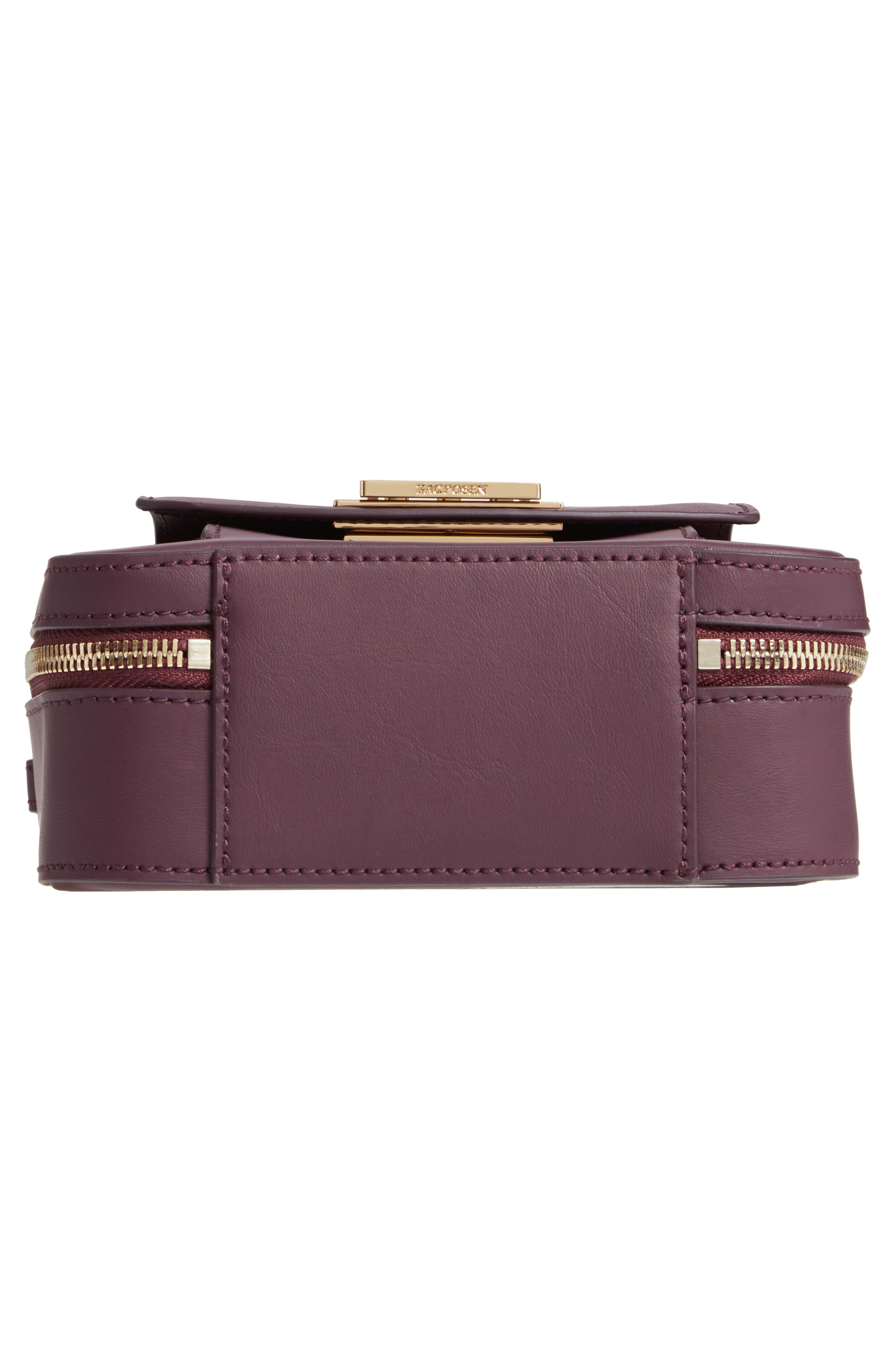 ZAC ZAC POSEN, Earthette Small Box Leather Crossbody Bag, Alternate thumbnail 6, color, 501