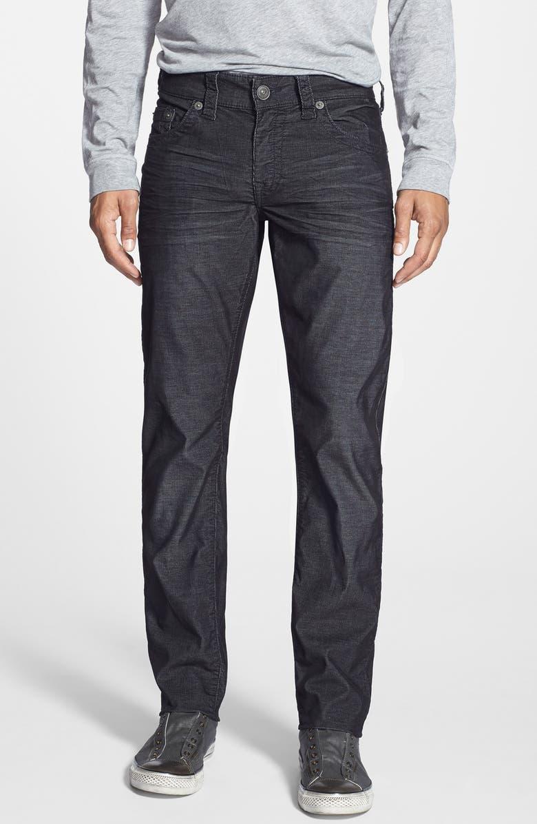 2d81767df TRUE RELIGION BRAND JEANS 'Geno' Straight Leg Corduroy Pants, Main, color,