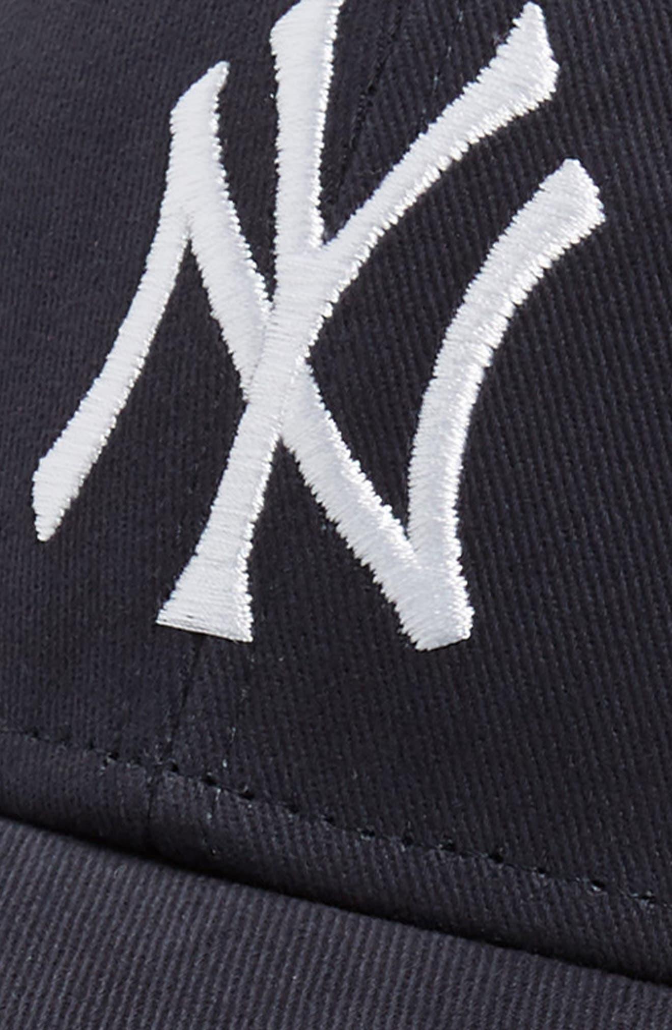 '47, New York Yankees Baseball Cap, Alternate thumbnail 3, color, 410