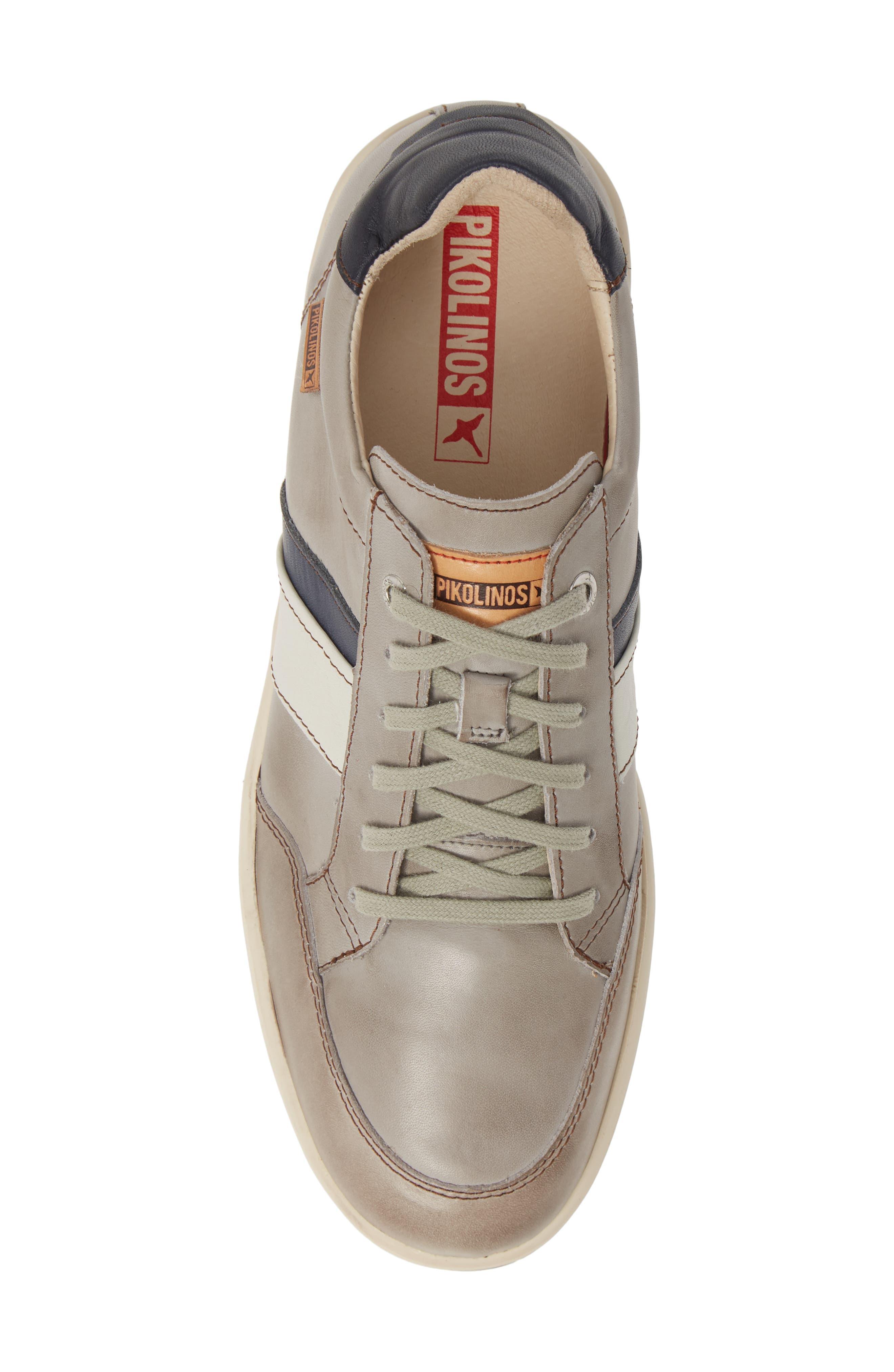 PIKOLINOS, Corinto Sneaker, Alternate thumbnail 4, color, SLATE