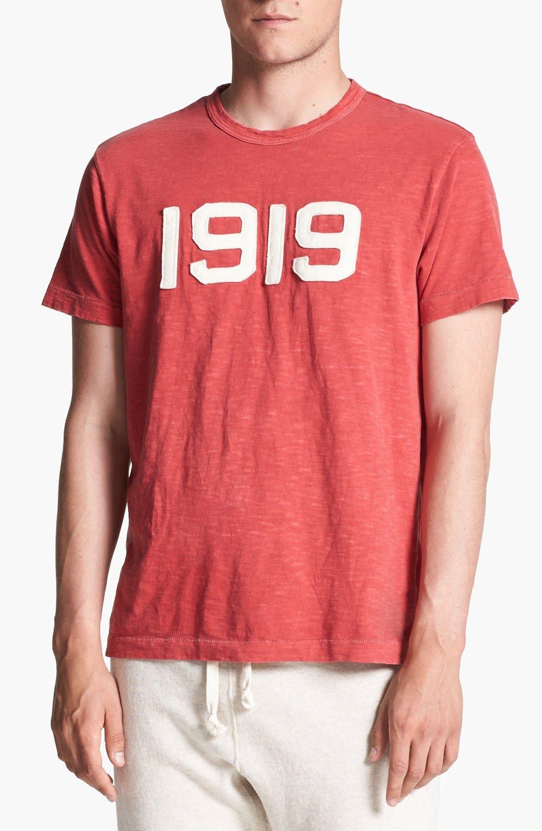 TODD SNYDER + CHAMPION, '1919' T-Shirt, Main thumbnail 1, color, 640