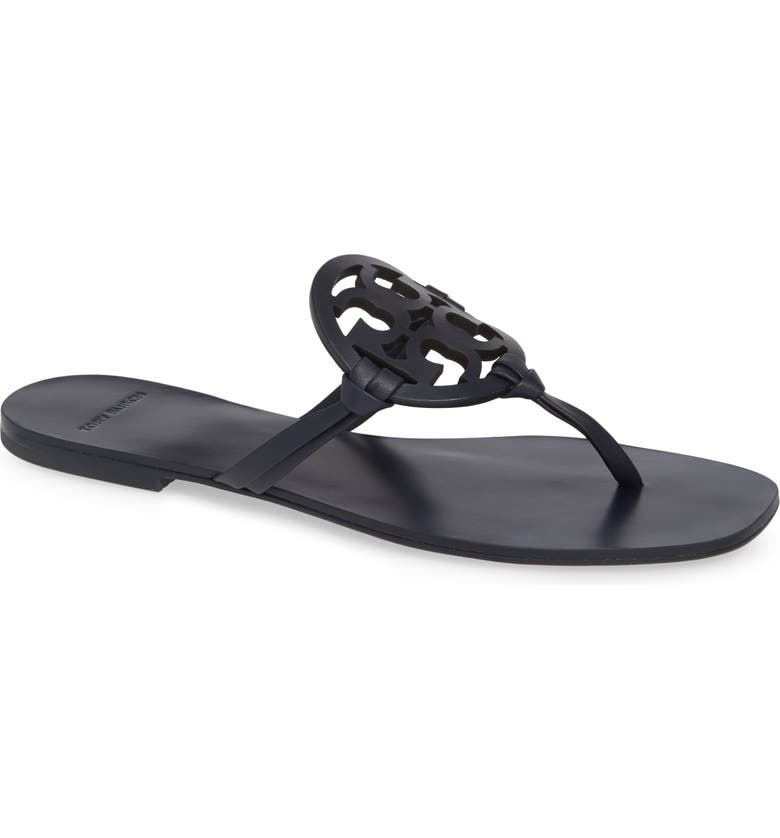 e15900ac1 Tory Burch Miller Square Toe Thong Sandal (Women)