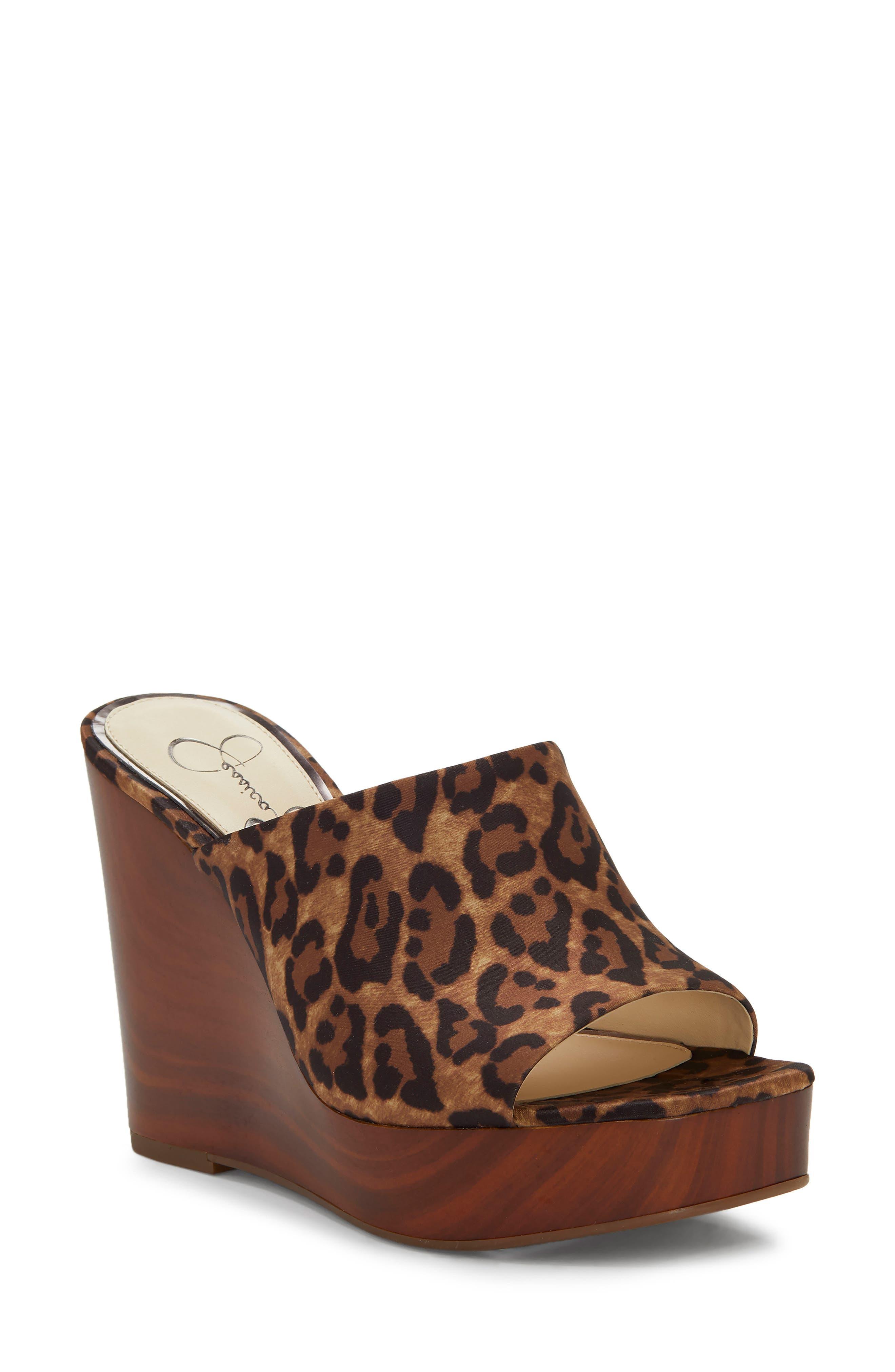 Jessica Simpson Shantelle Wedge Slide Sandal- Beige