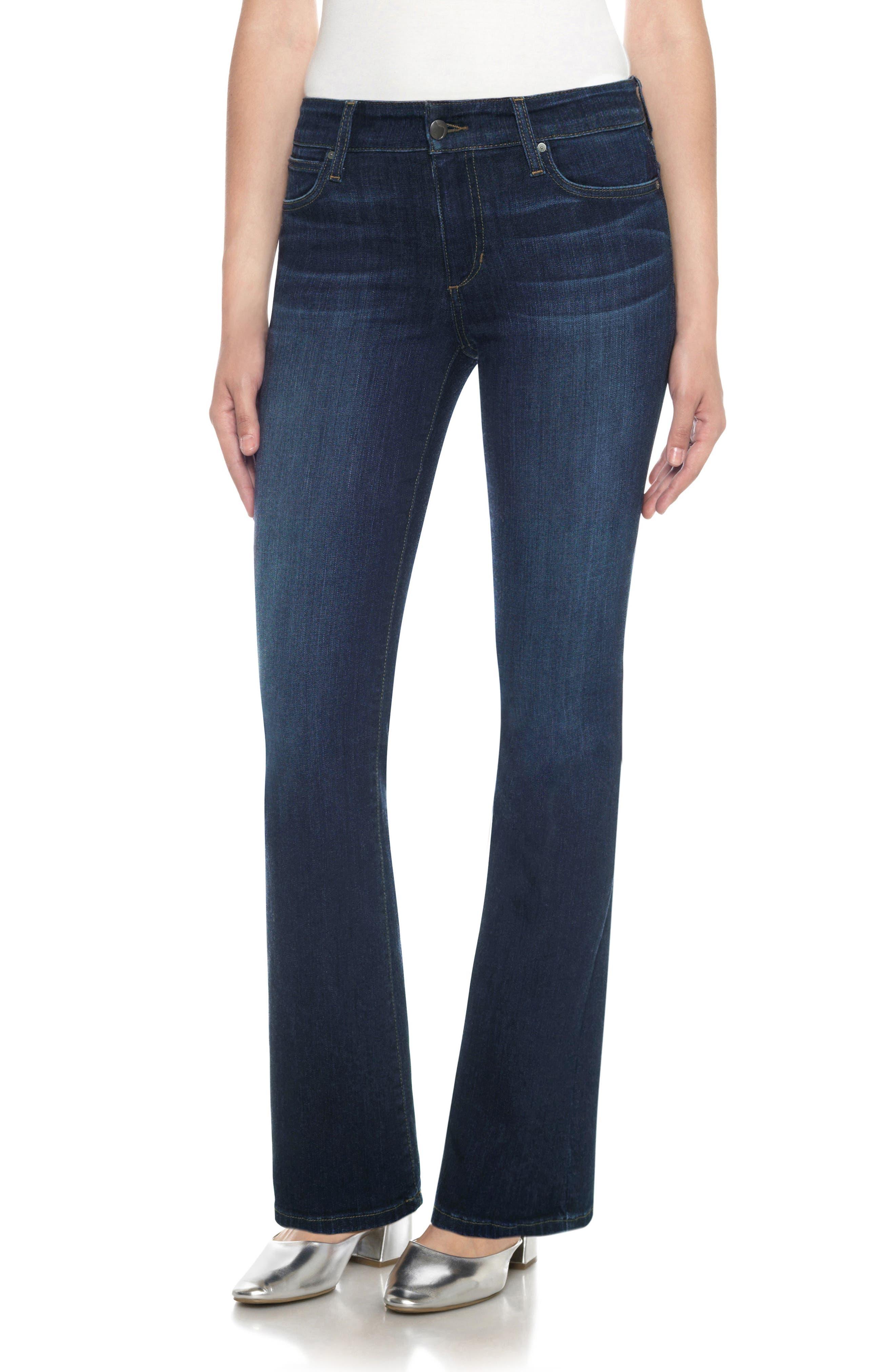 JOE'S, Flawless - Provocateur Bootcut Jeans, Main thumbnail 1, color, 401