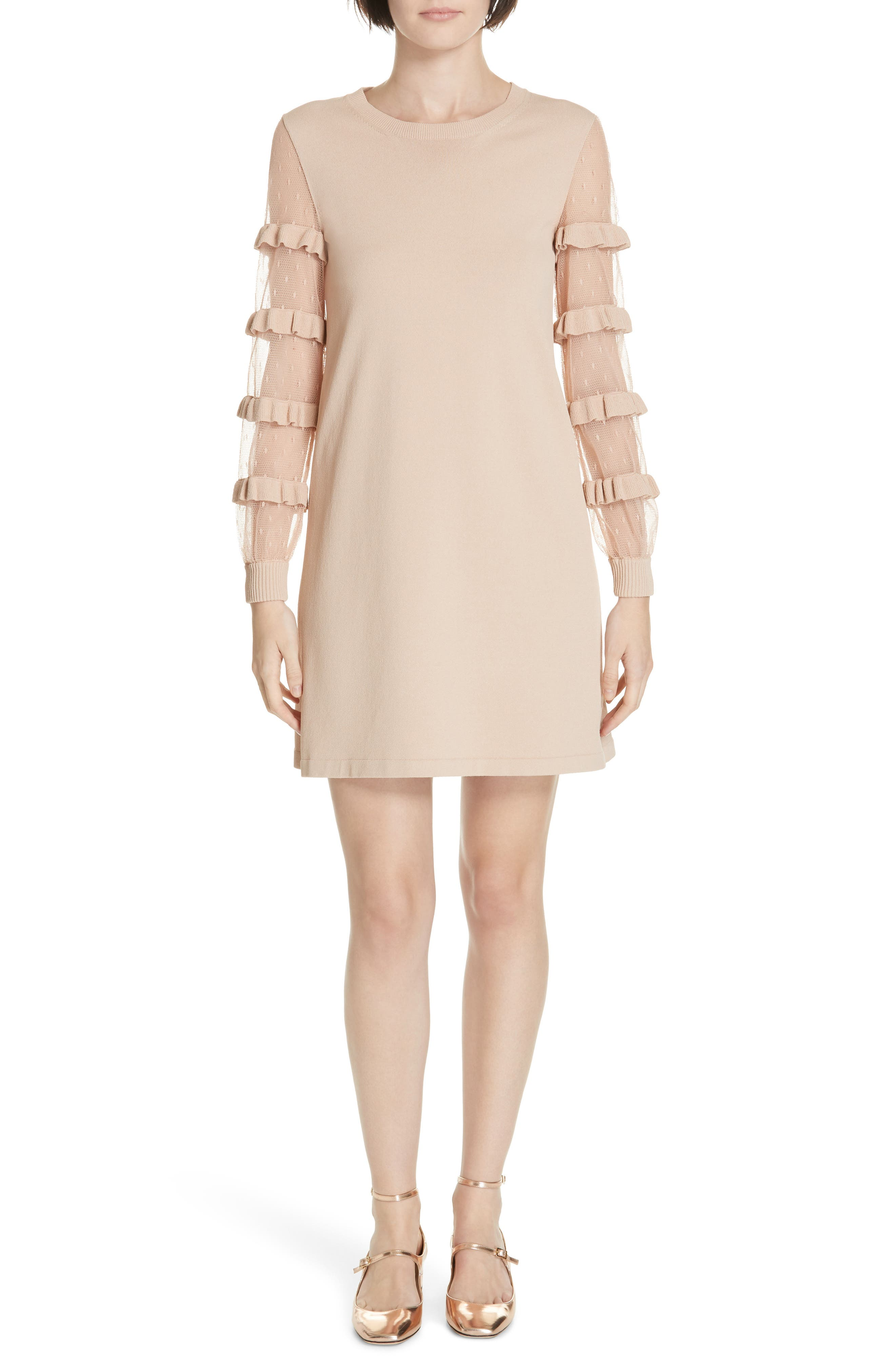 Red Valentino Ruffle Point D