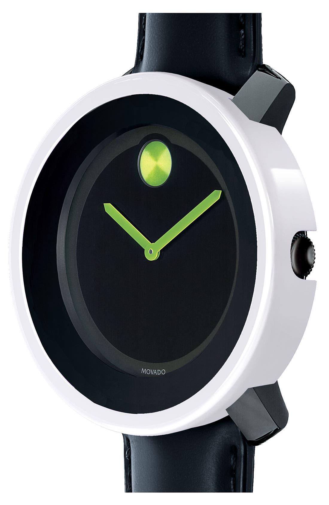 MOVADO, 'Large Bold' Watch, 42mm, Main thumbnail 1, color, 001
