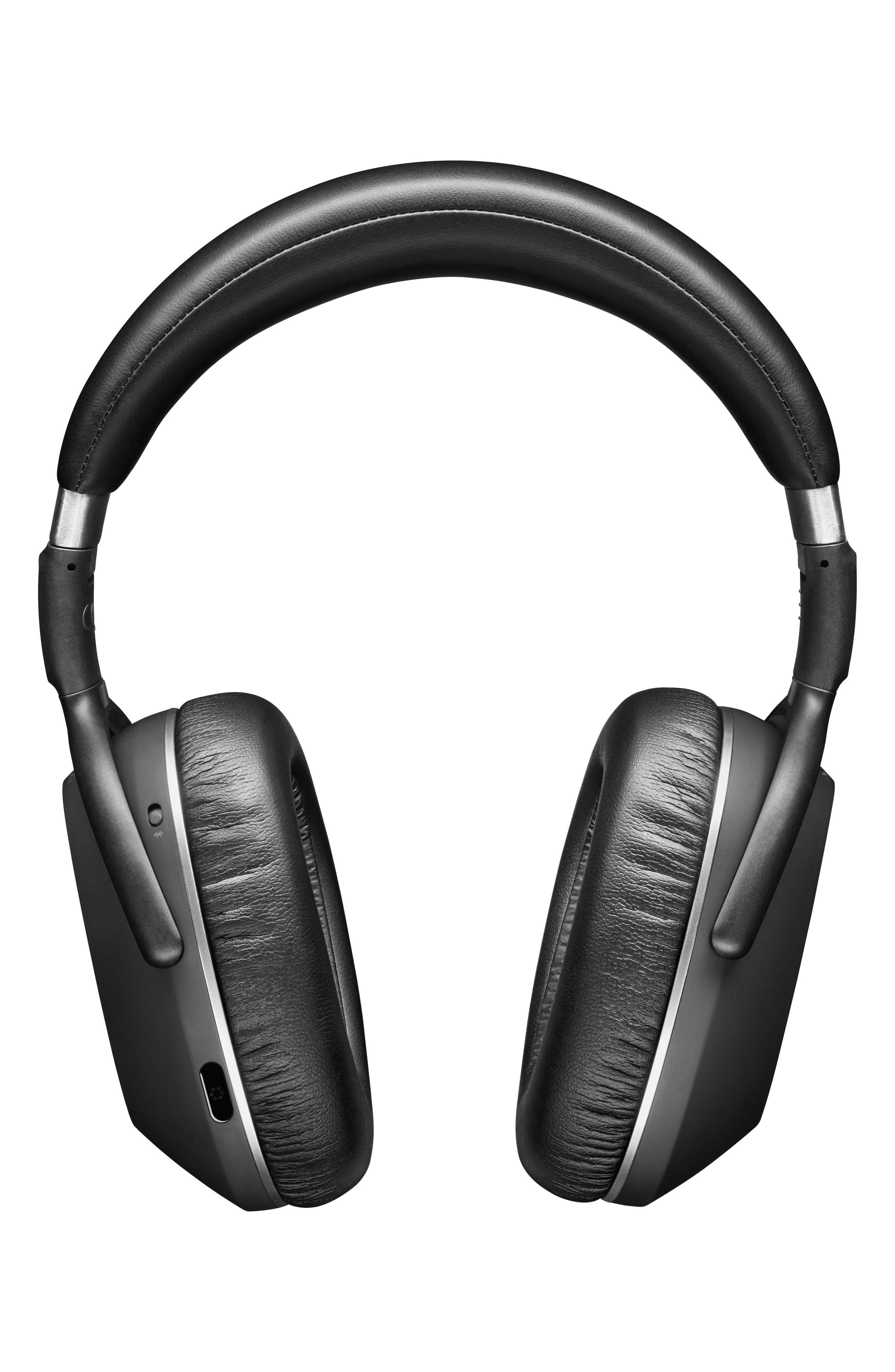 SENNHEISER, PXC 550 Wireless Bluetooth<sup>®</sup> Noise Cancelling Headphones, Main thumbnail 1, color, BLACK/ SILVER