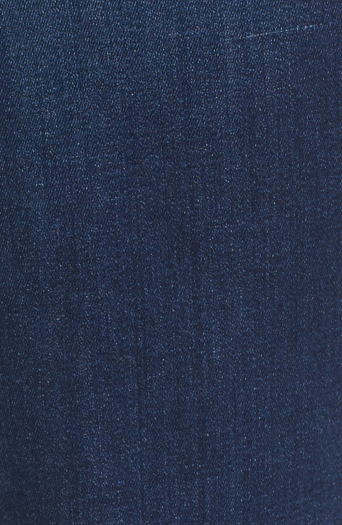 JEN7 BY 7 FOR ALL MANKIND, Slim Bootcut Jeans, Alternate thumbnail 5, color, RICHE TOUCH MEDIUM BLUE