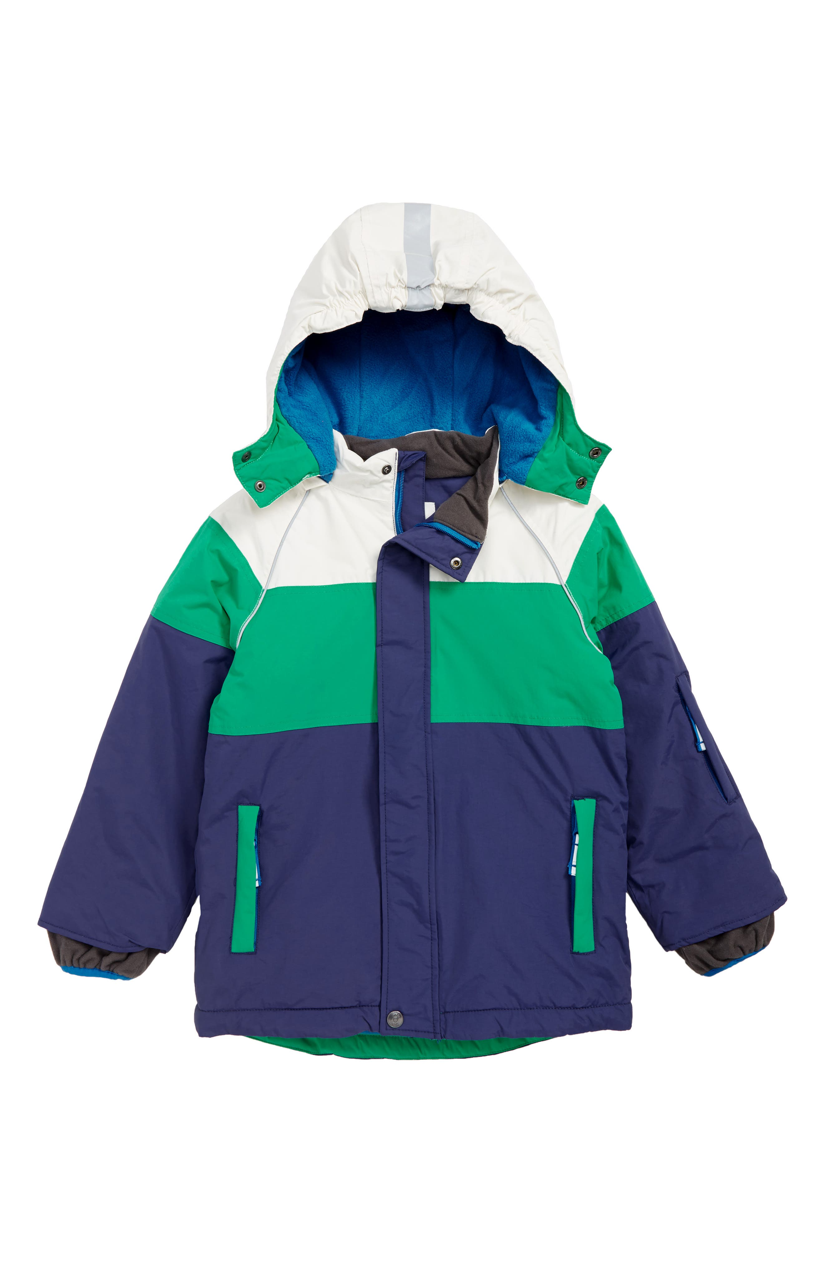 MINI BODEN, All Weather Waterproof Jacket, Main thumbnail 1, color, 424