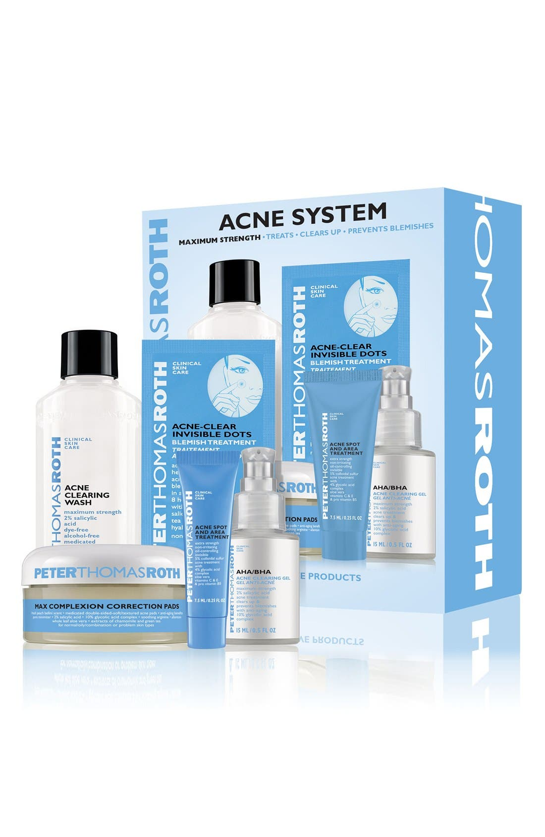 PETER THOMAS ROTH, Acne System Kit, Alternate thumbnail 2, color, 000